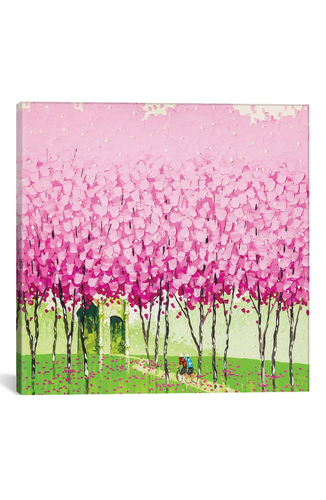 Main Image - iCanvas 'Happiness' Giclée Print Canvas Art