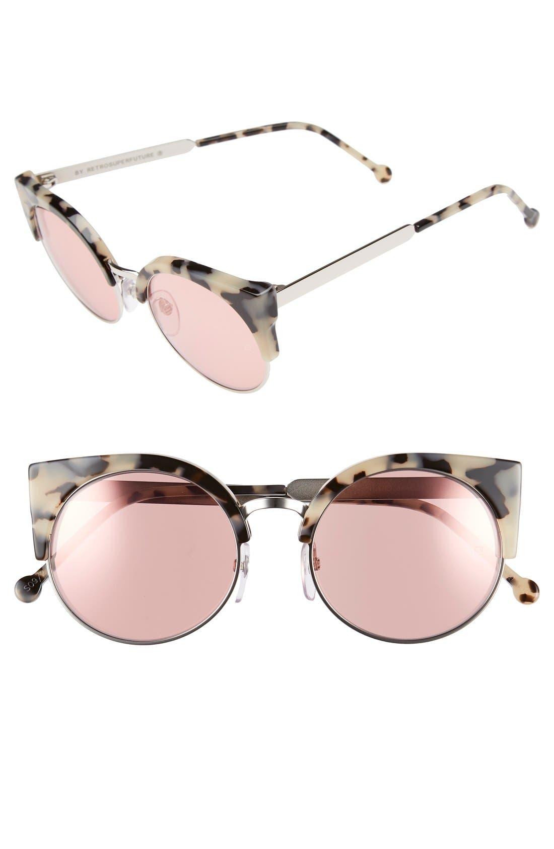 Main Image - SUPER by RETROSUPERFUTURE® 'Ilaria Gel' 55mm Cat Eye Sunglasses