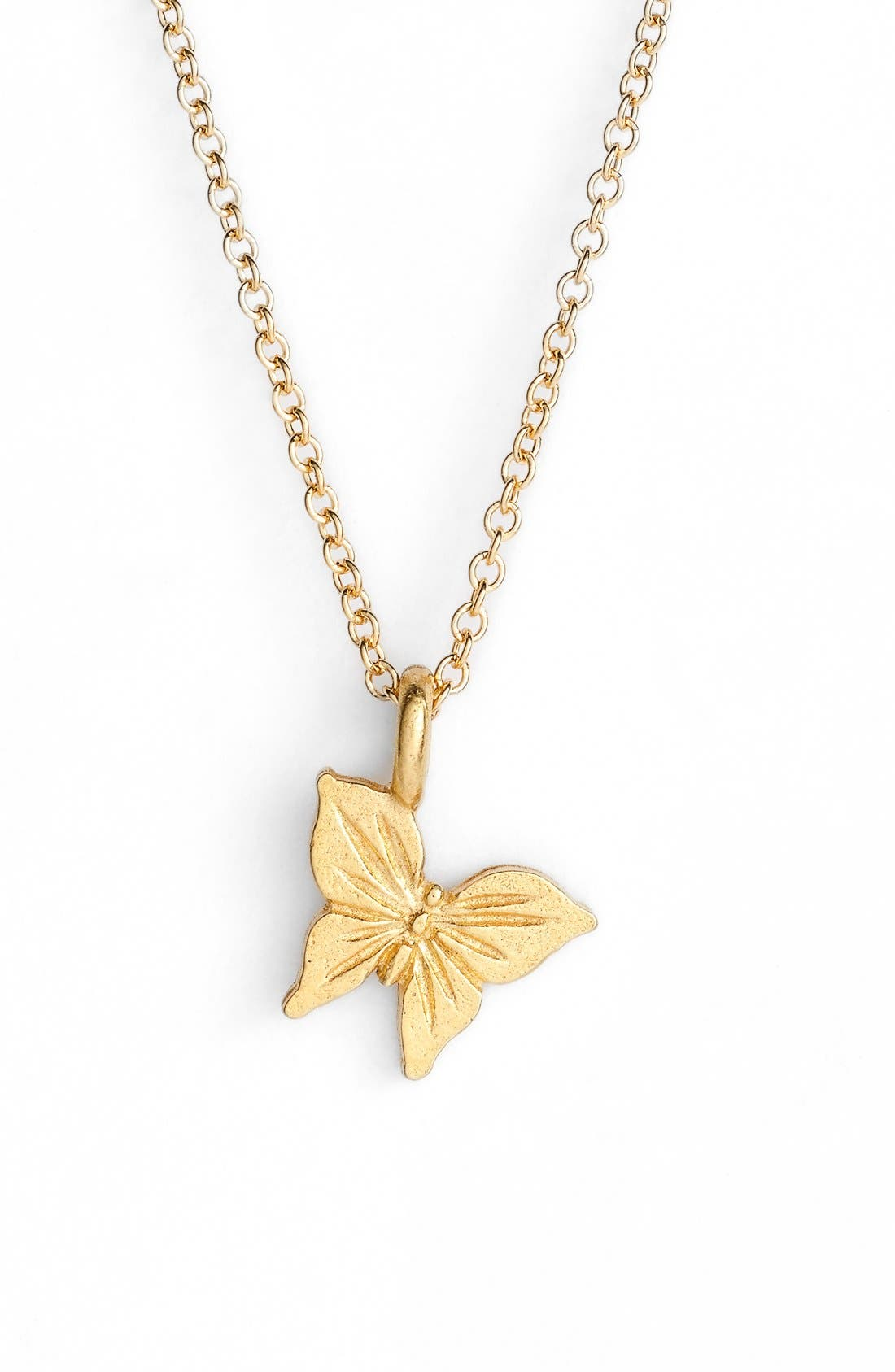 Alternate Image 3  - Dogeared 'Graduation' Butterfly Pendant Necklace