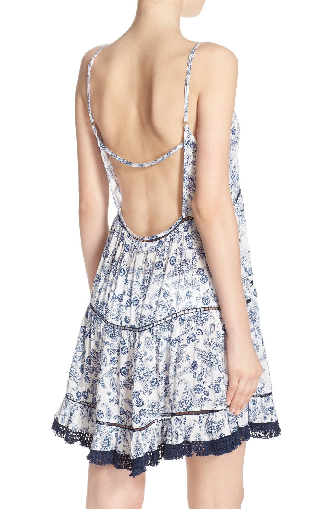 Alternate Image 1 Selected - Surf Gypsy Backless Babydoll Cover-Up Dress