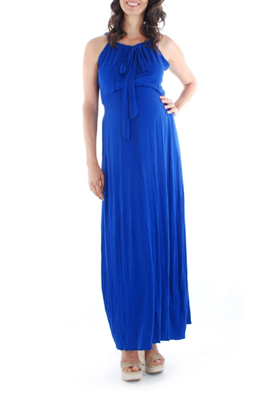 Alternate Image 1 Selected - Everly Grey 'Harmony' Maternity Maxi Dress