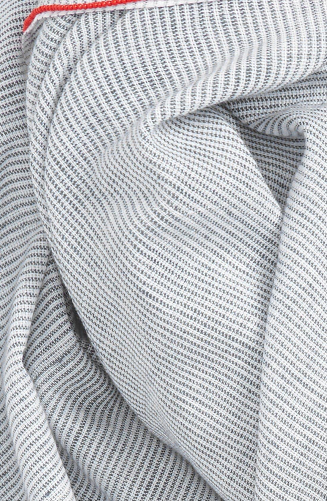 Alternate Image 3  - Steve Madden Microstripe Wrap Scarf