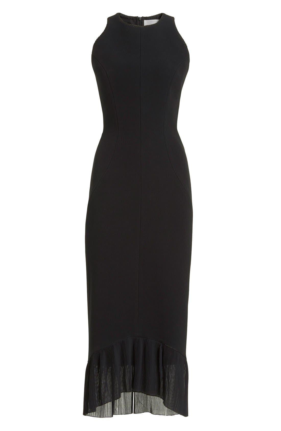Alternate Image 4  - Victoria Beckham Crepe Sheath Dress