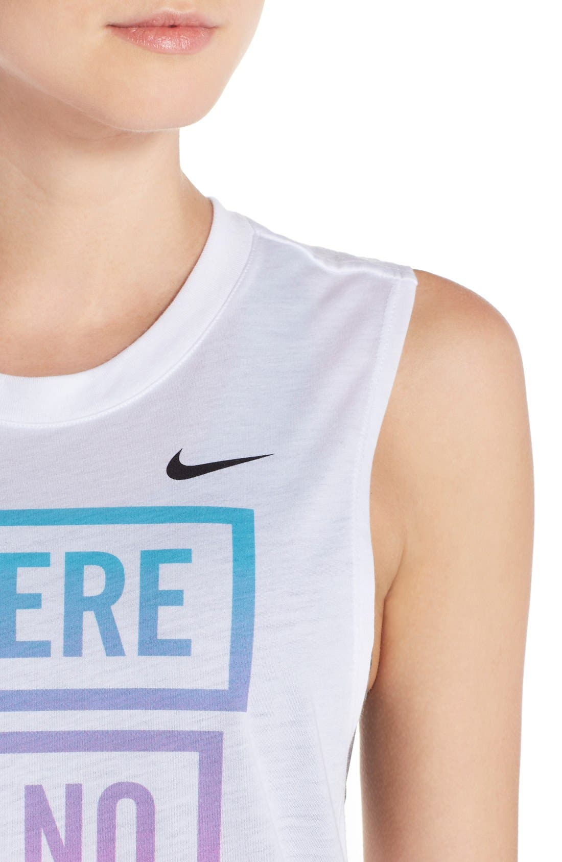 Alternate Image 4  - Nike 'There Is No Finish Line' Muscle Tank