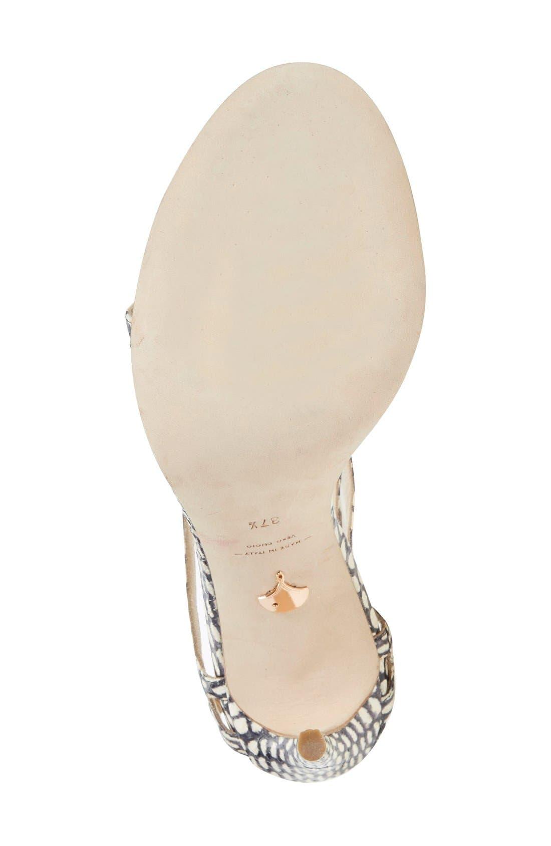 Alternate Image 4  - Chelsea Paris 'Soyak' Ankle Strap Sandal (Women)