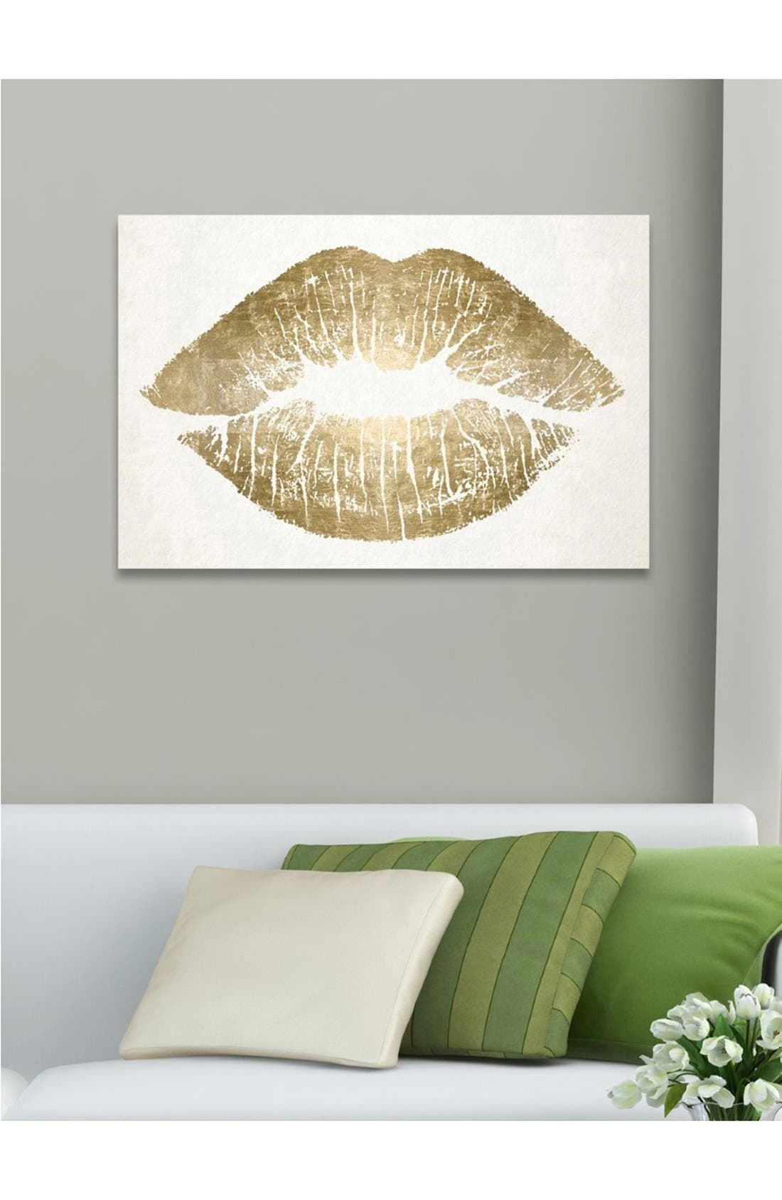 Alternate Image 2  - Oliver Gal 'Kiss' Wall Art