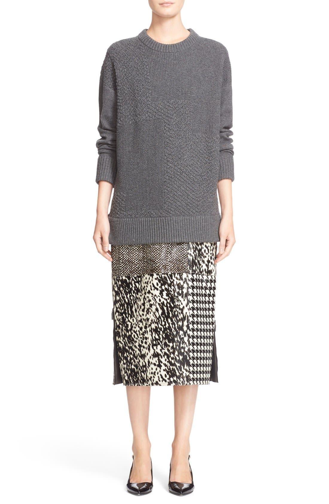 Alternate Image 7  - Jason Wu Cashmere & Wool Blend Textured Sweater