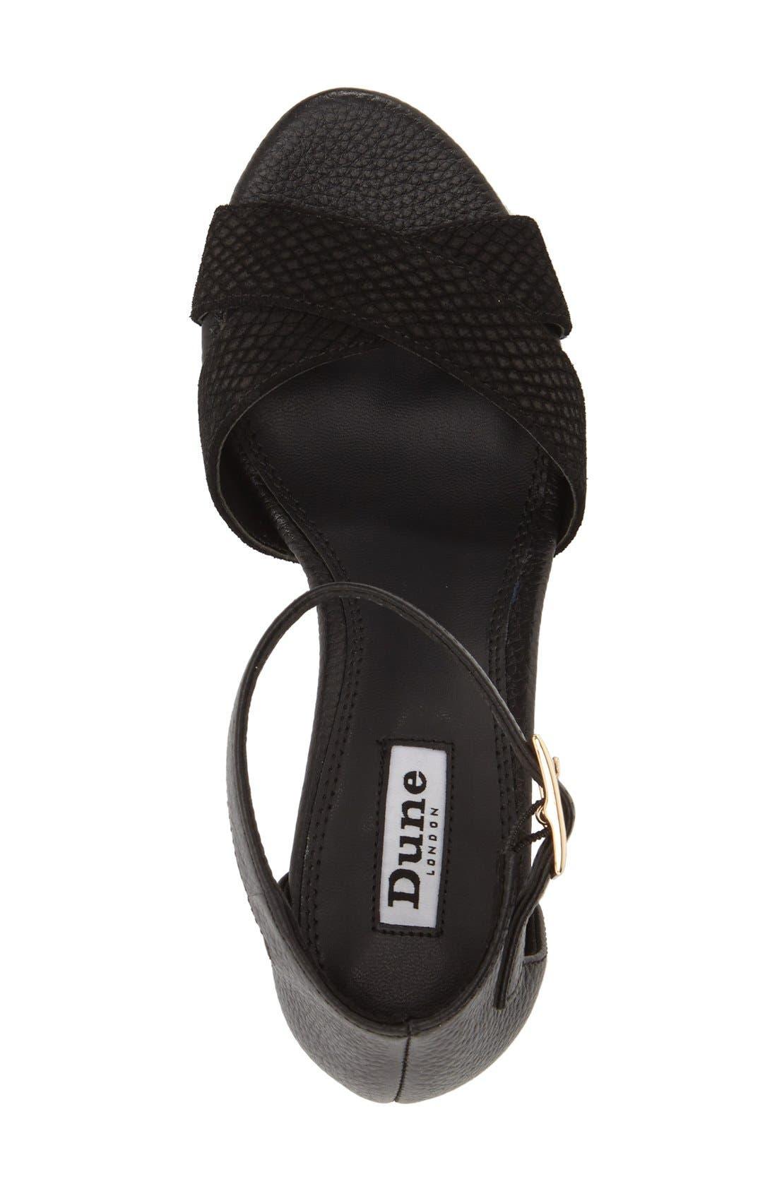Alternate Image 3  - Dune London 'Imelda' Block Heel Ankle Strap Sandal (Women)