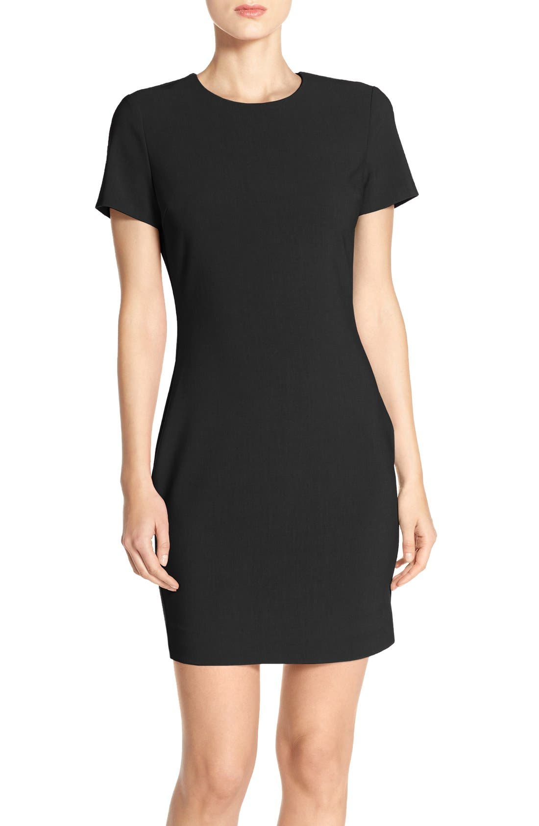 LIKELY 'Manhattan' Short Sleeve Sheath Dress
