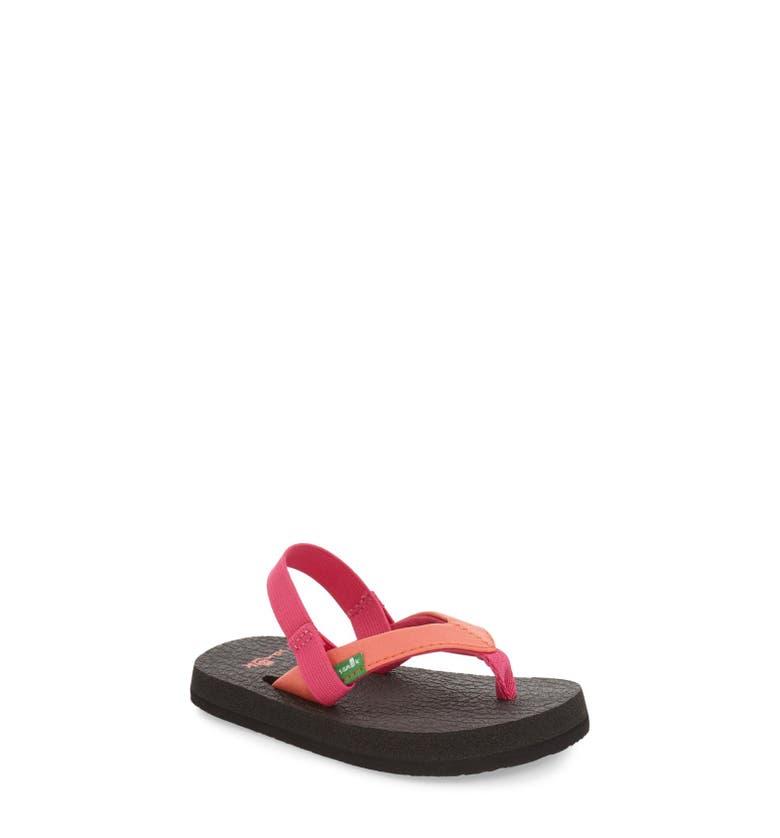 Sanuk 'Yoga Mat' Sandal (Toddler, Little Kid & Big Kid