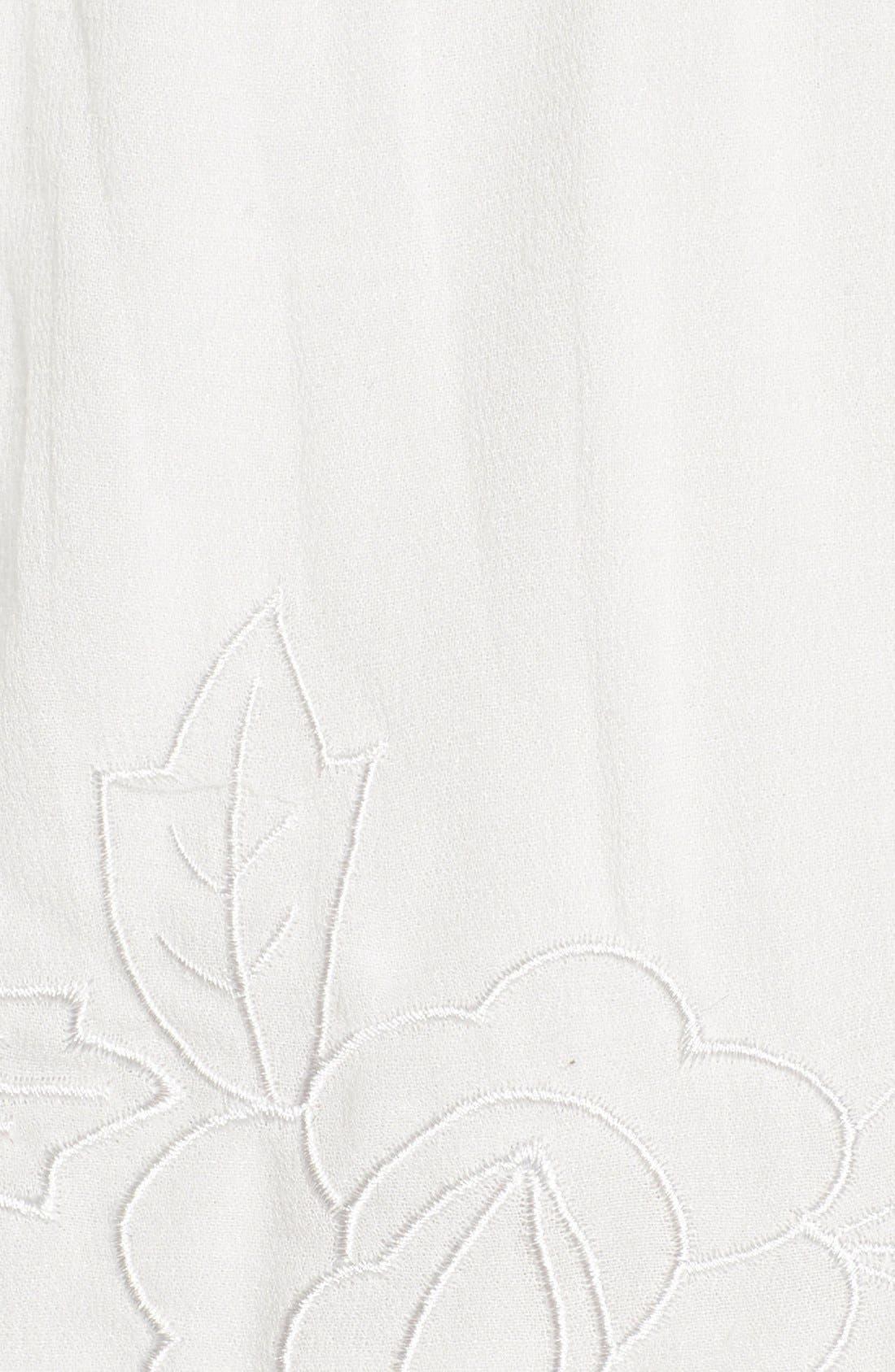 Alternate Image 4  - Glamorous Embroidered Shorts