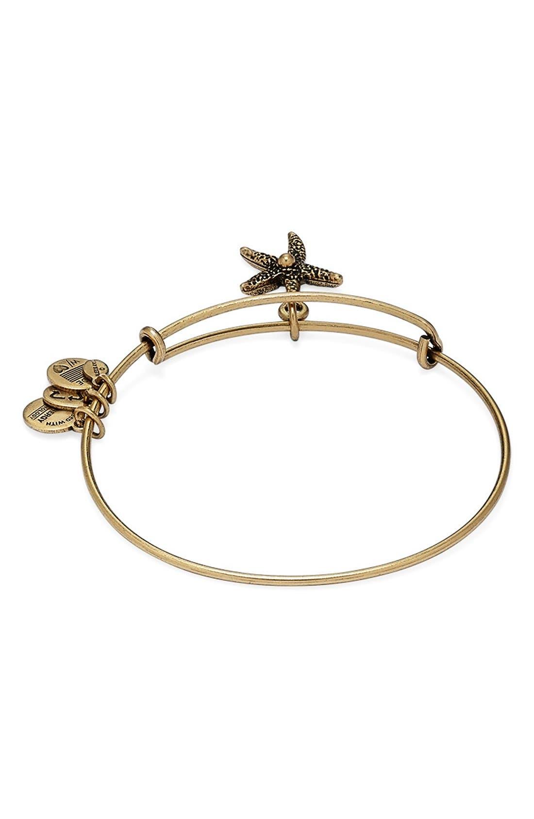Alternate Image 3  - Alex and Ani 'Starfish' Bangle Bracelet