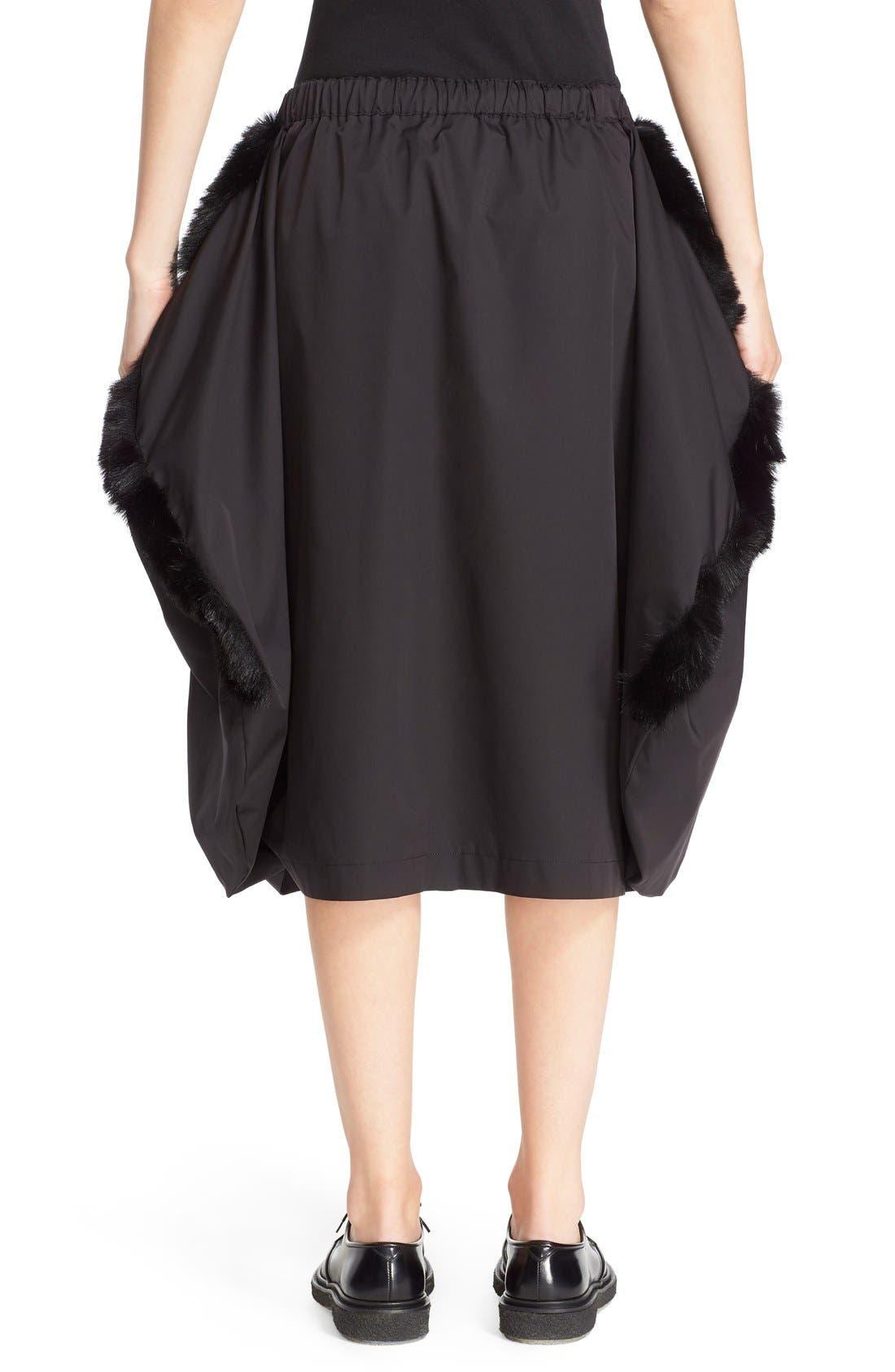 Alternate Image 2  - Comme des Garçons Stretch Twill Midi Skirt