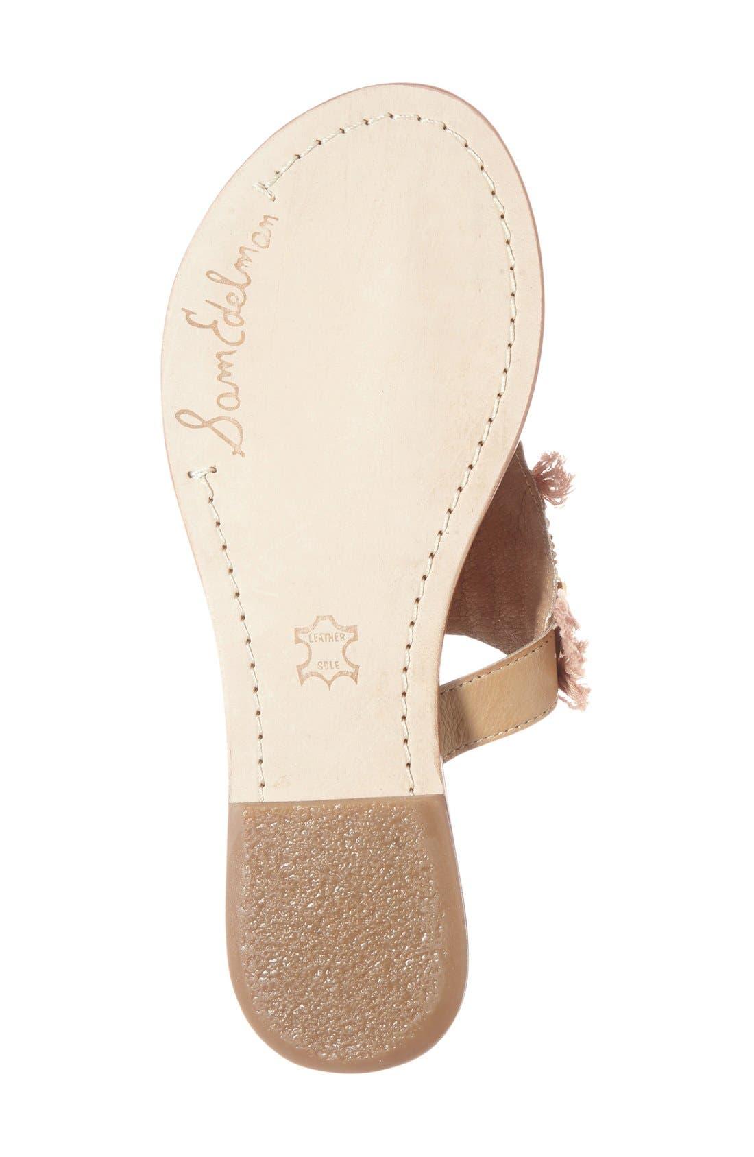 Alternate Image 4  - Sam Edelman 'Kathy' Thong Sandal (Women)