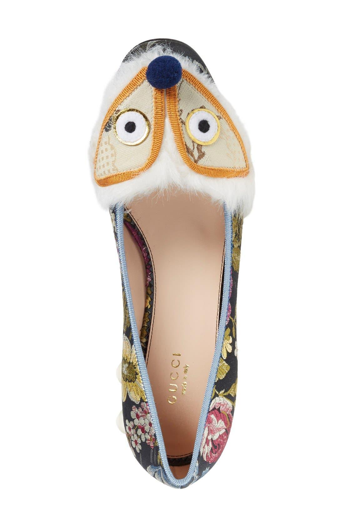 Alternate Image 3  - Gucci 'Kimberly' Embellished Pump (Women)