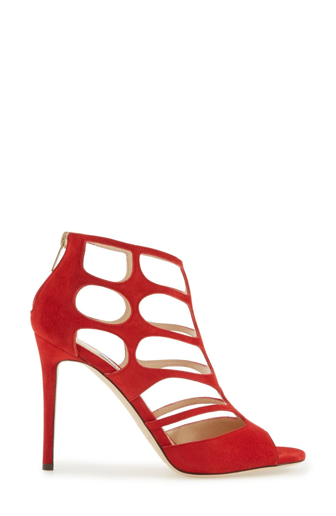Alternate Image 4  - Jimmy Choo 'Ren' Cutout Sandal (Women)