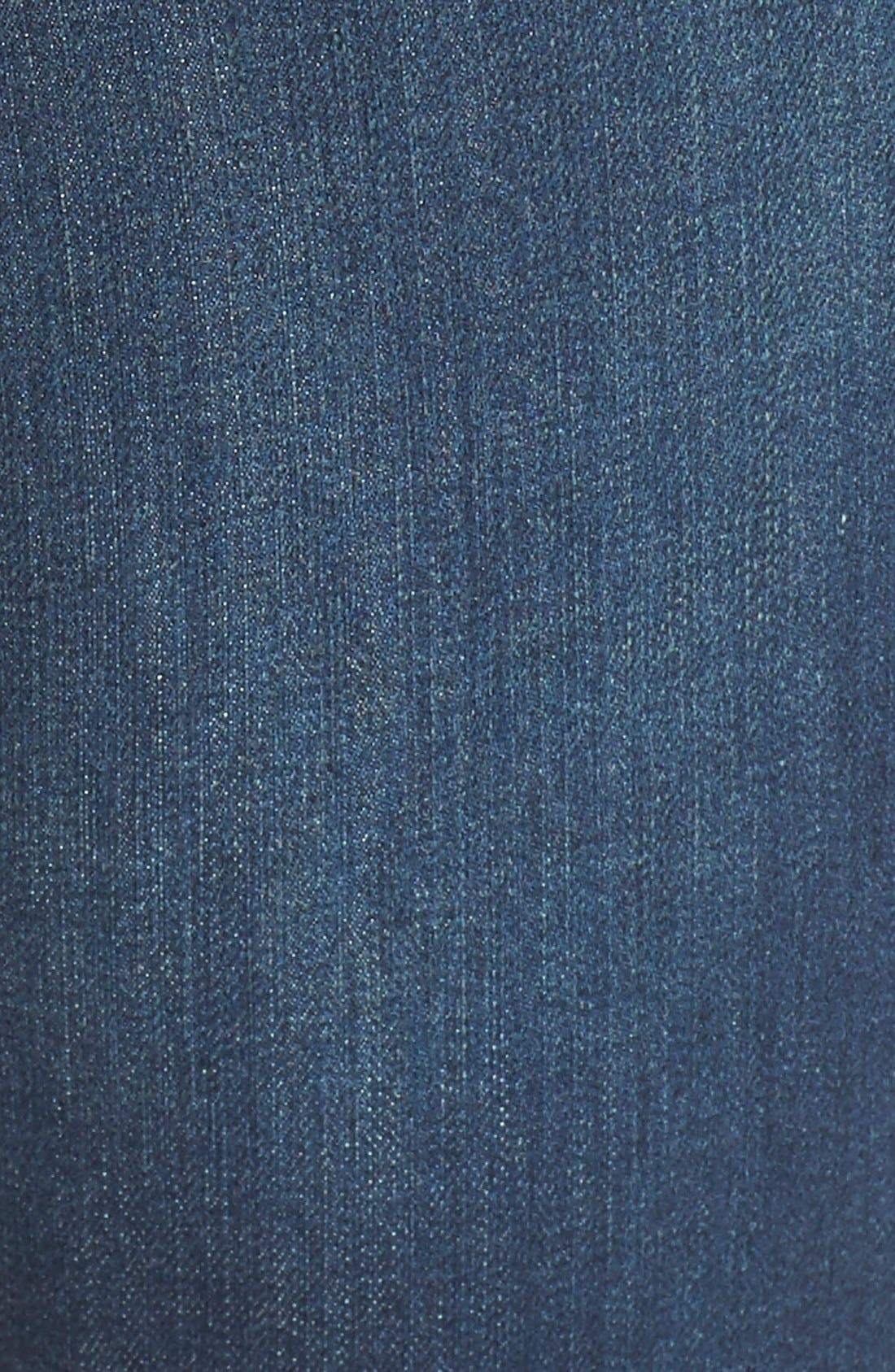 Alternate Image 5  - Caslon® Stretch Skinny Ankle Jeans (Midnight) (Regular & Petite)