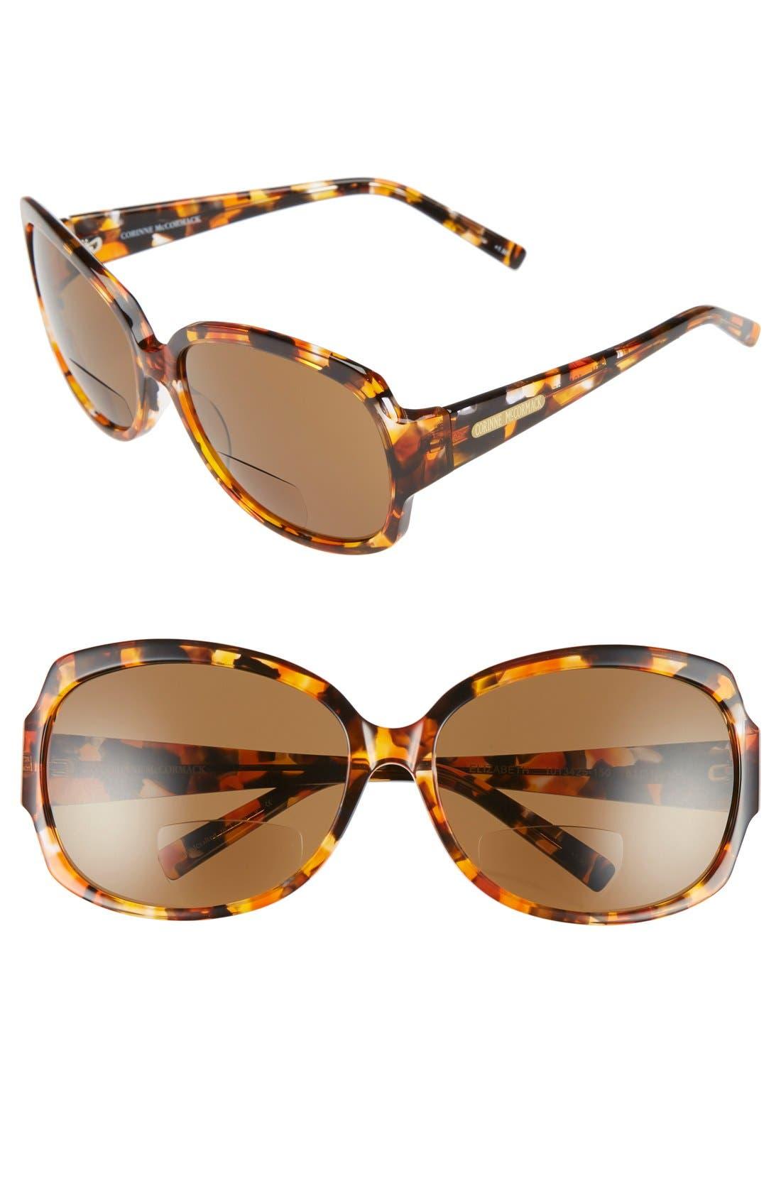 Alternate Image 1 Selected - Corinne McCormack 'Elizabeth' 61mm Reading Sunglasses