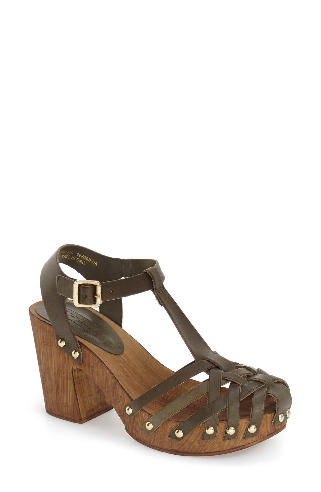Main Image - Topshop 'Venice' Platform Sandal (Women)