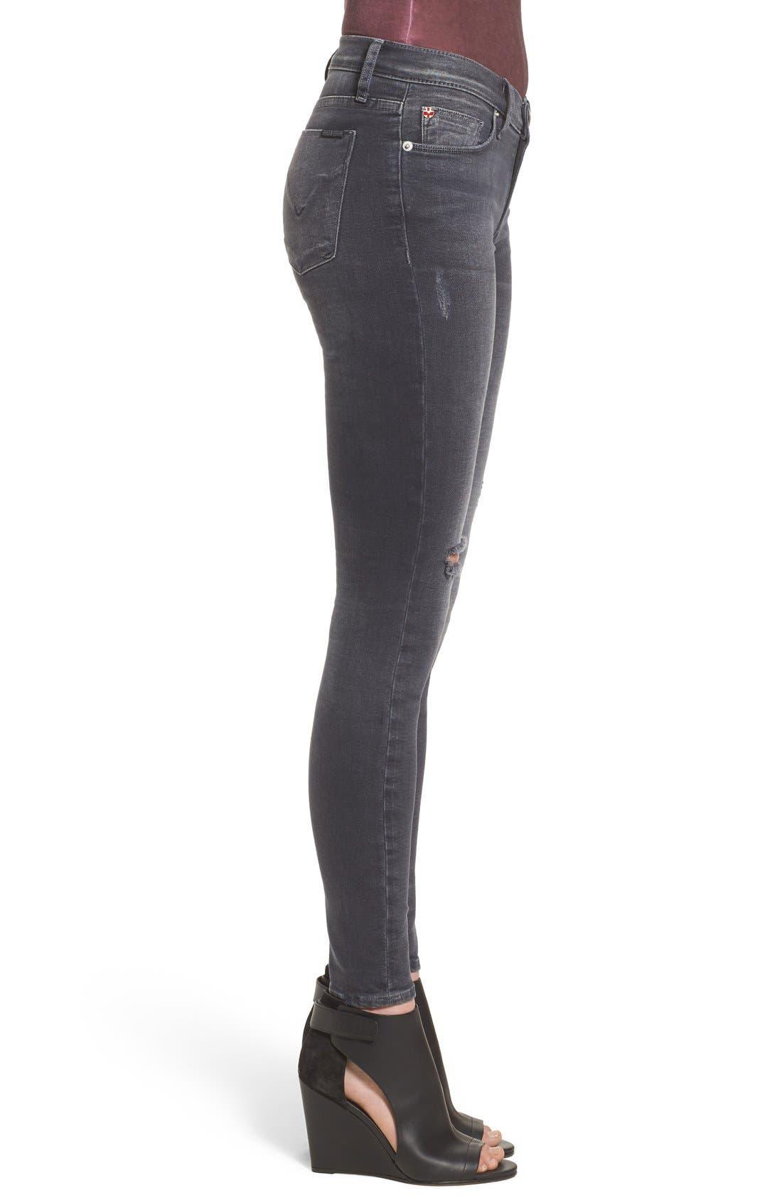 Alternate Image 3  - Hudson Jeans Krista Ankle Jeans (Stormy Horizon)