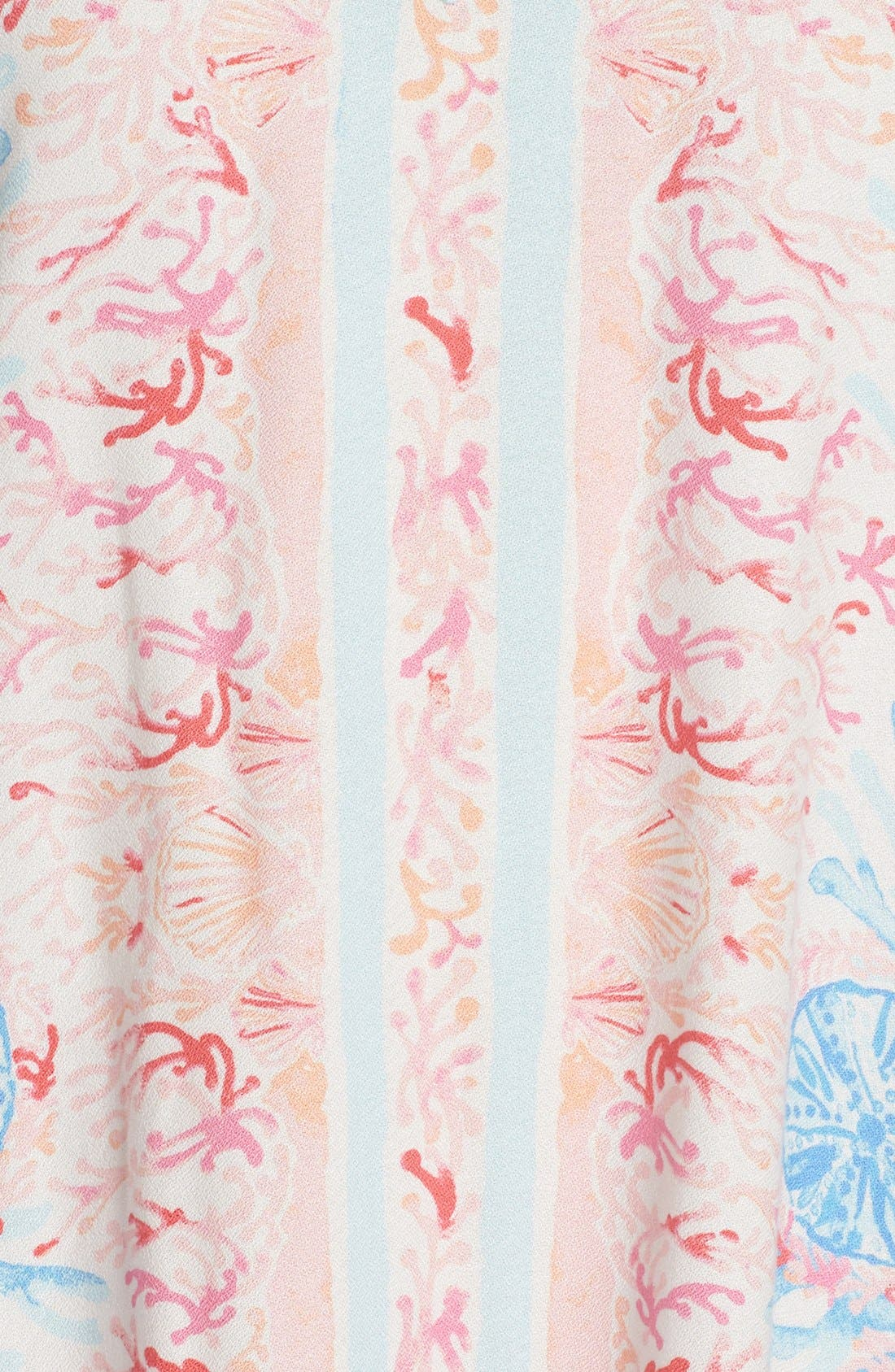 Alternate Image 6  - Lilly Pulitzer® Print Woven Caftan