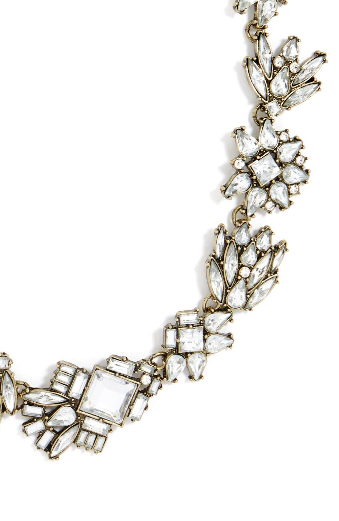 Alternate Image 3  - BaubleBar 'Helsinki' Crystal Collar Necklace