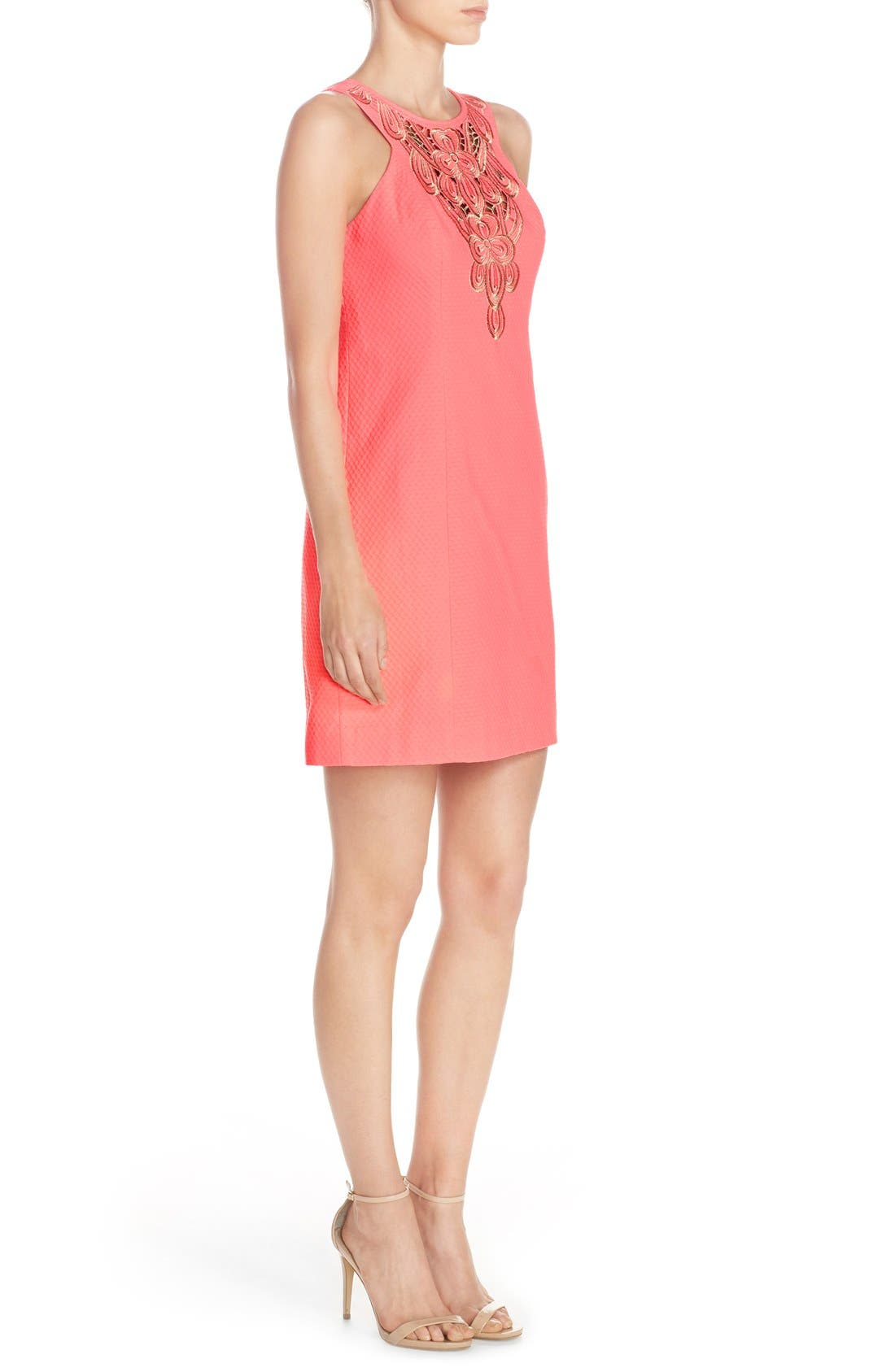 Alternate Image 3  - Lilly Pulitzer® 'Largo' Cotton Piqué Sheath Dress