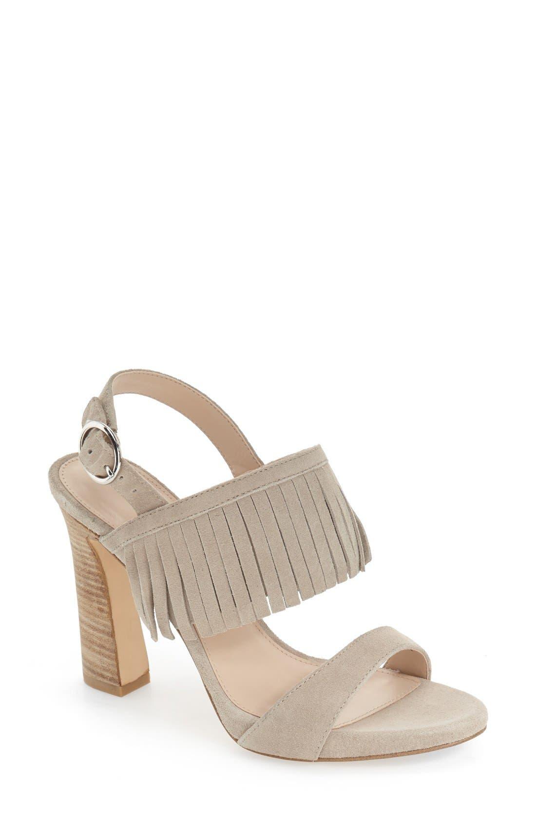 Pelle Moda 'Nora' Fringe Sandal (Women)