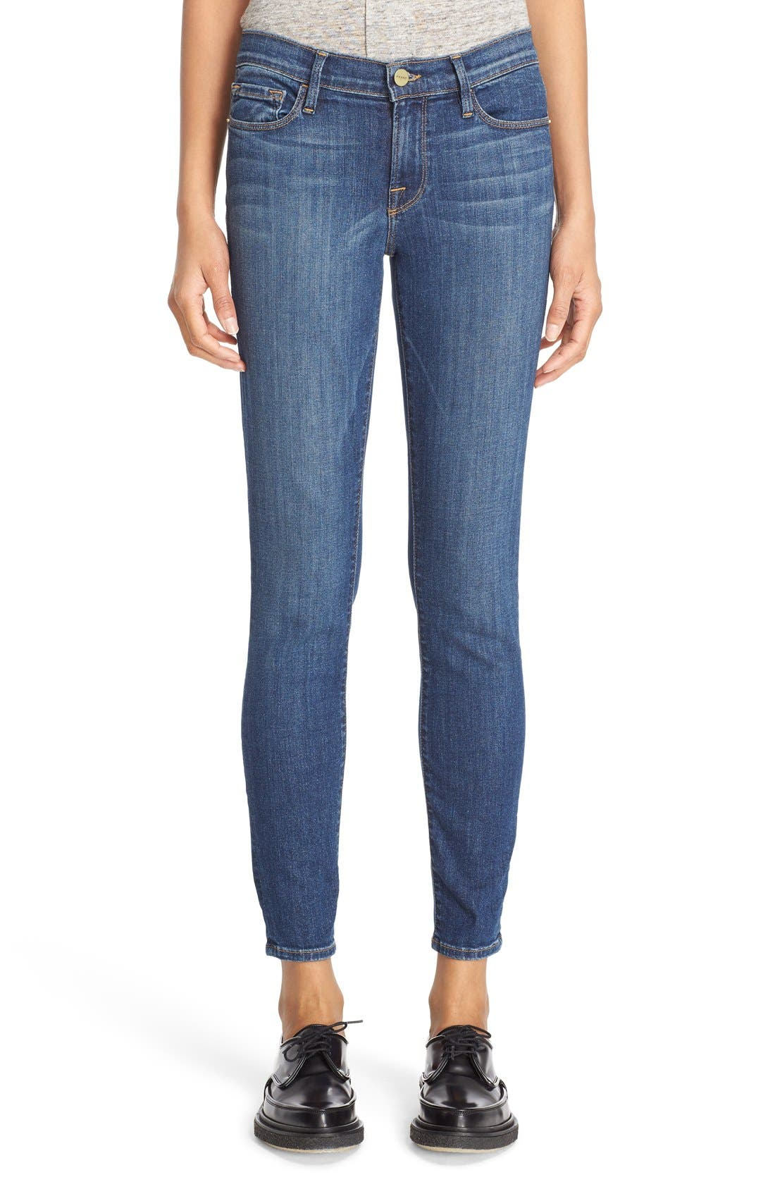 FRAME 'Le Skinny de Jeanne' Jeans (Neosho) (Nordstrom Exclusive)