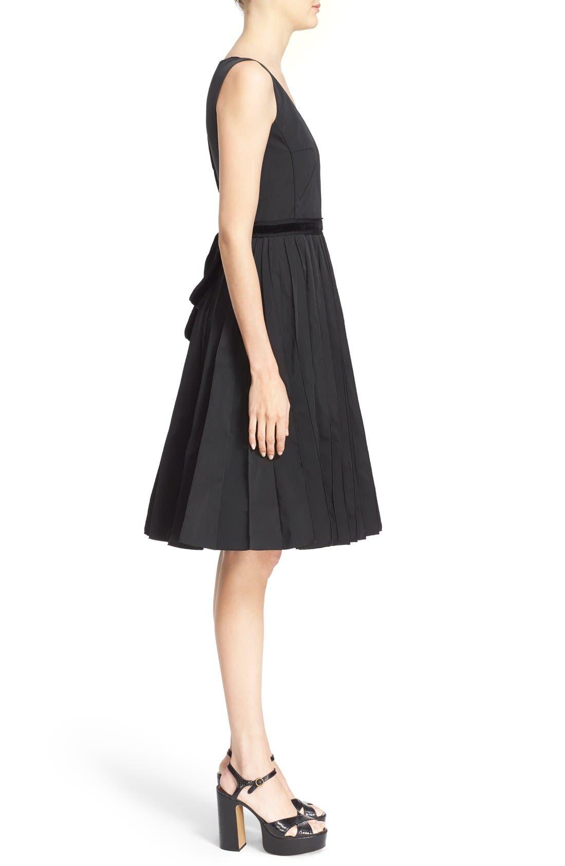 Alternate Image 5  - MARC JACOBS Pleated Sleeveless Fit & Flare Dress