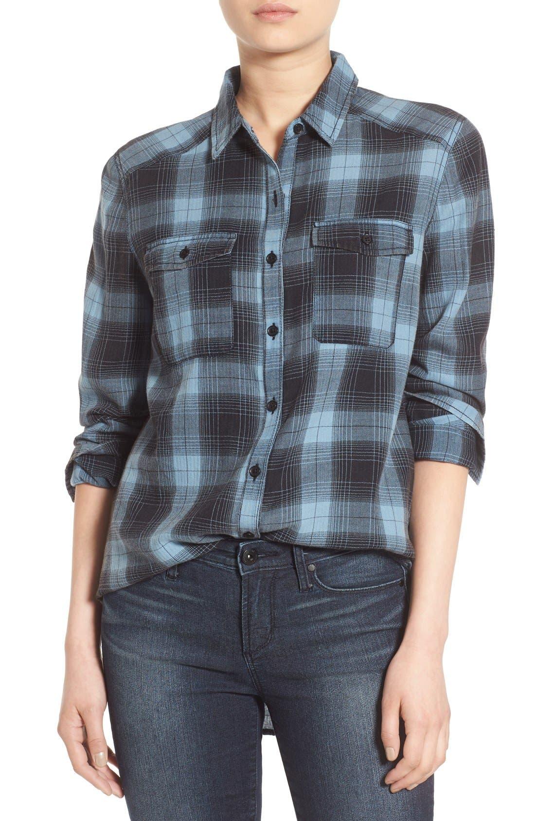 Alternate Image 1 Selected - BP. Plaid Shirt