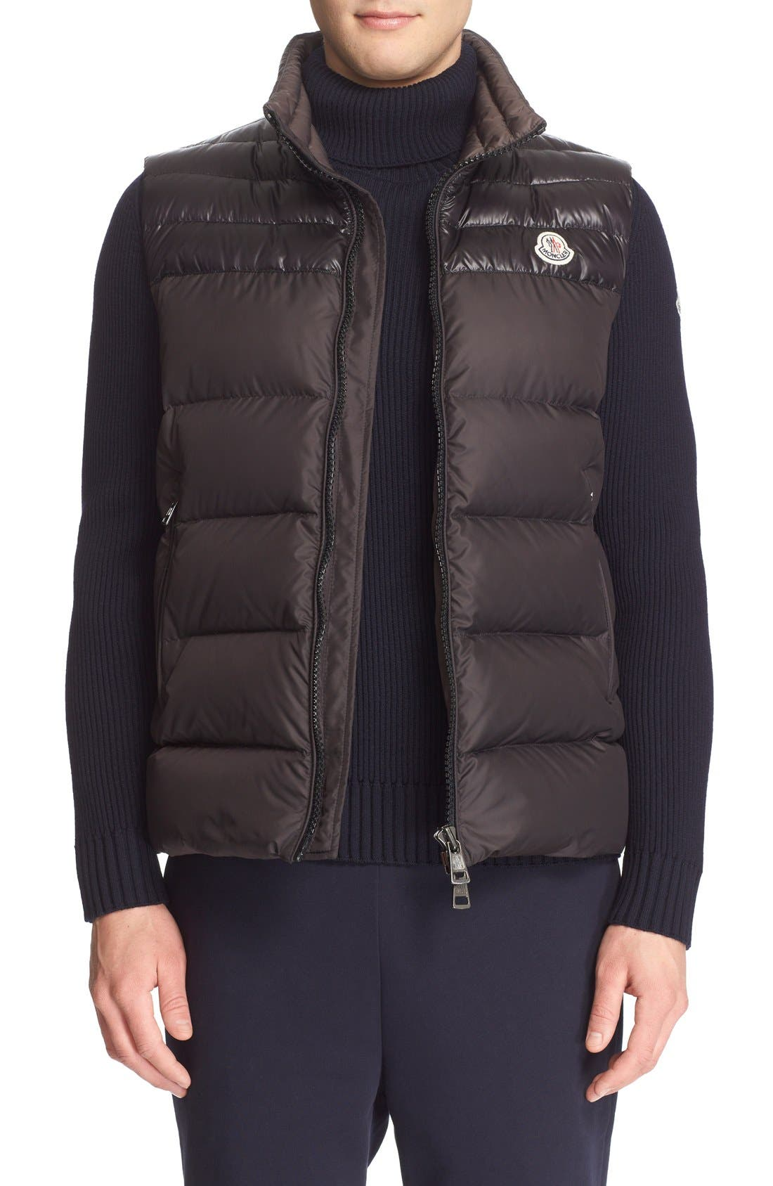 MONCLER 'Dupres' Quilted Down Vest