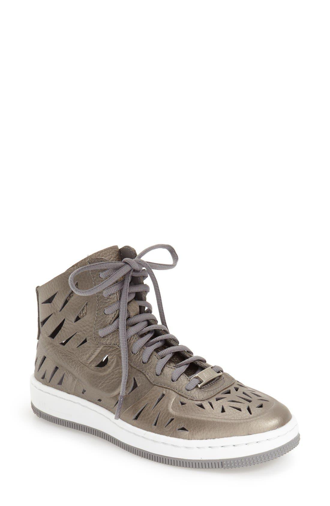 Alternate Image 1 Selected - Nike 'Air Force 1 - Ultra Force Joli' High Top Sneaker (Women)