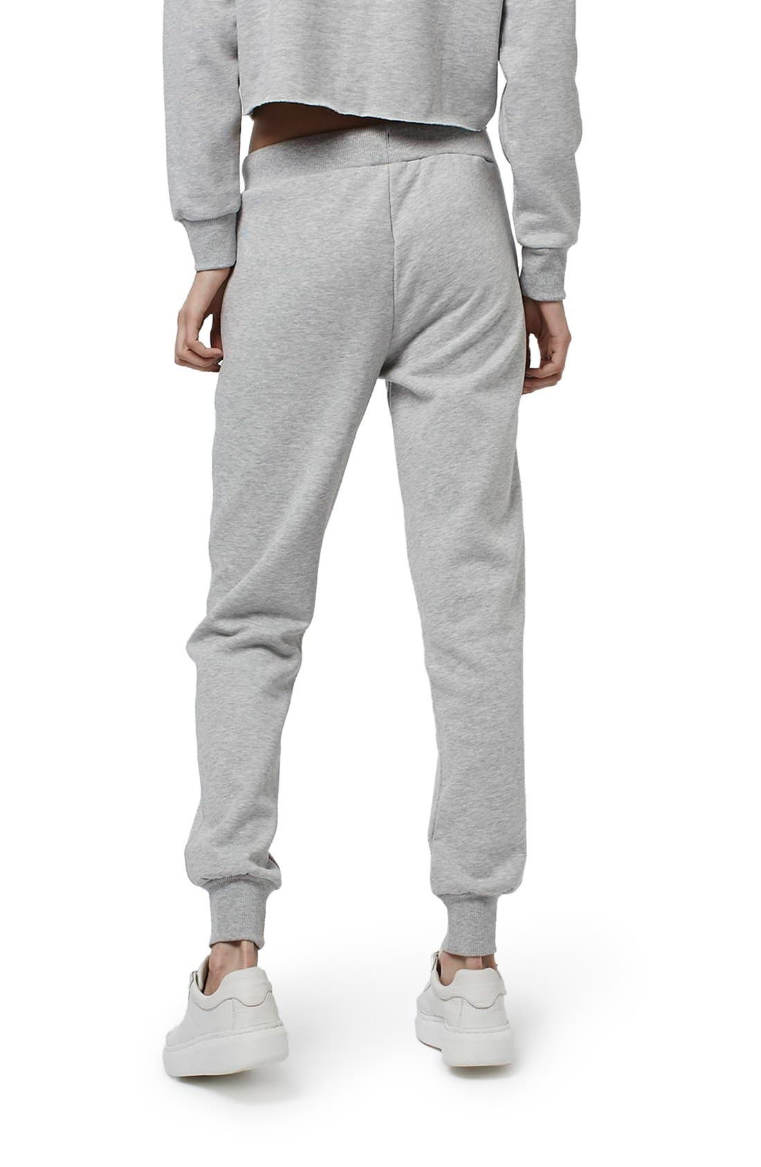 Alternate Image 3  - Topshop Badged Jogger Pants (Regular & Petite)