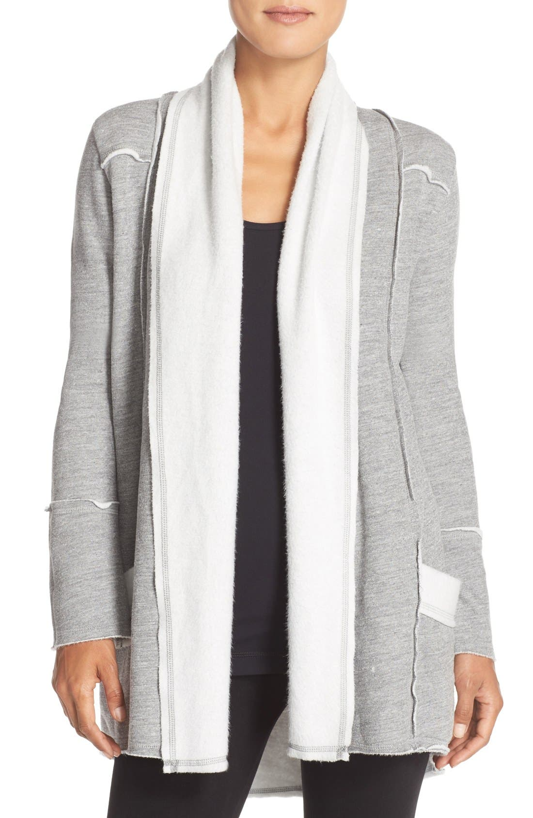 Alternate Image 1 Selected - Hard Tail Slouchy Knit Cardigan