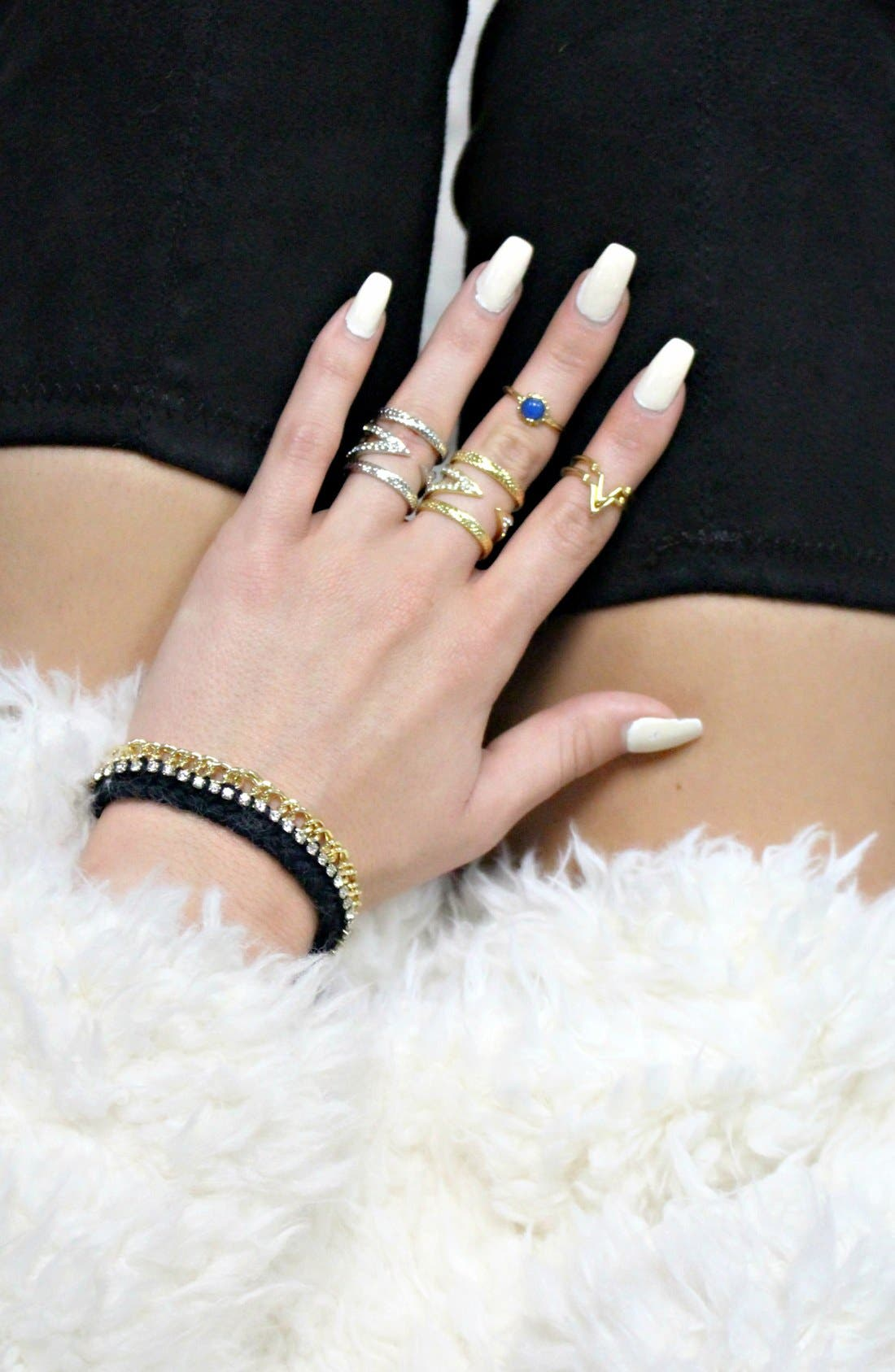 Alternate Image 6  - Ettika Braided Crystal Bracelet