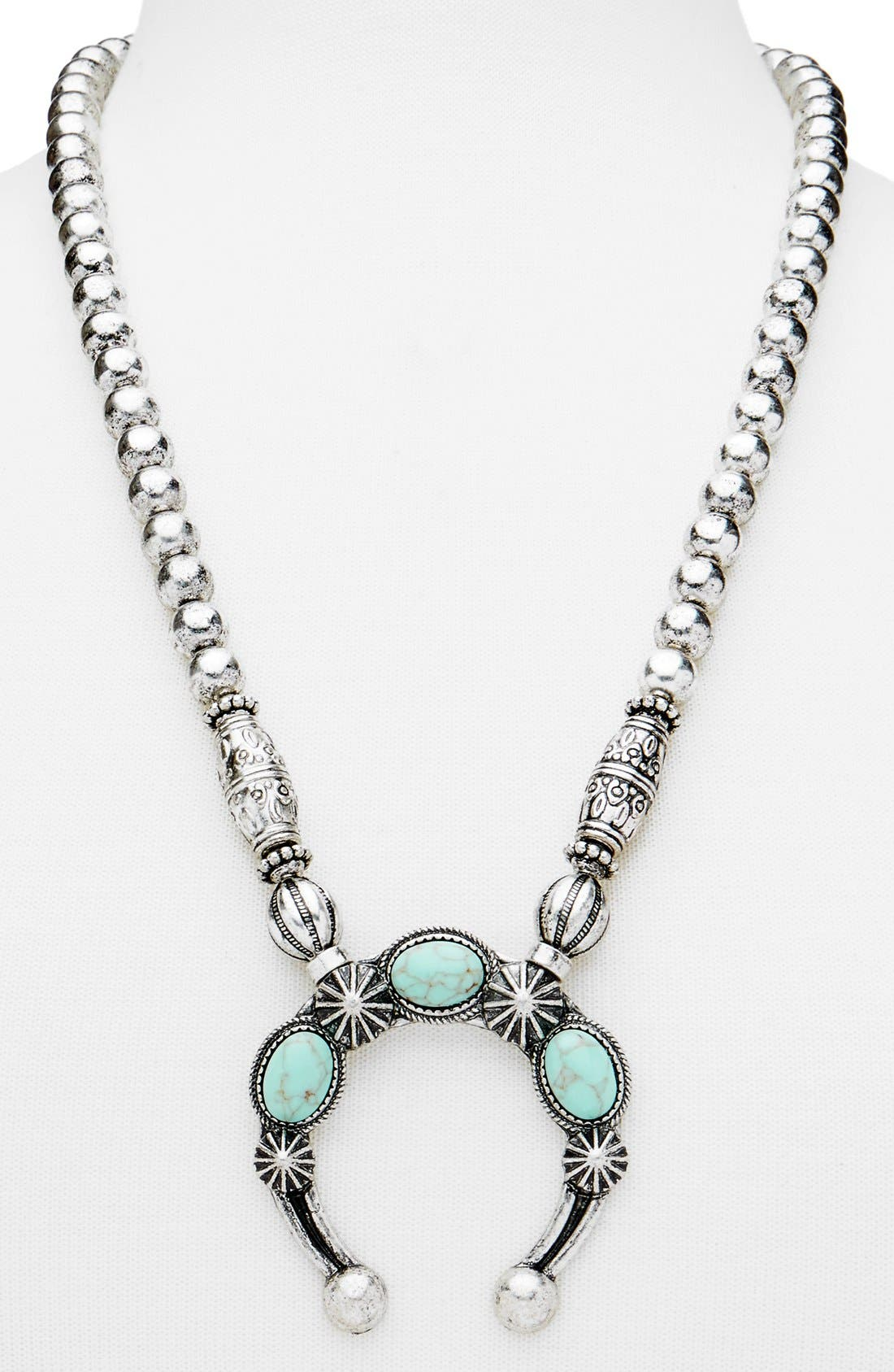 Alternate Image 2  - BaubleBar 'Poseidon' Pendant Necklace
