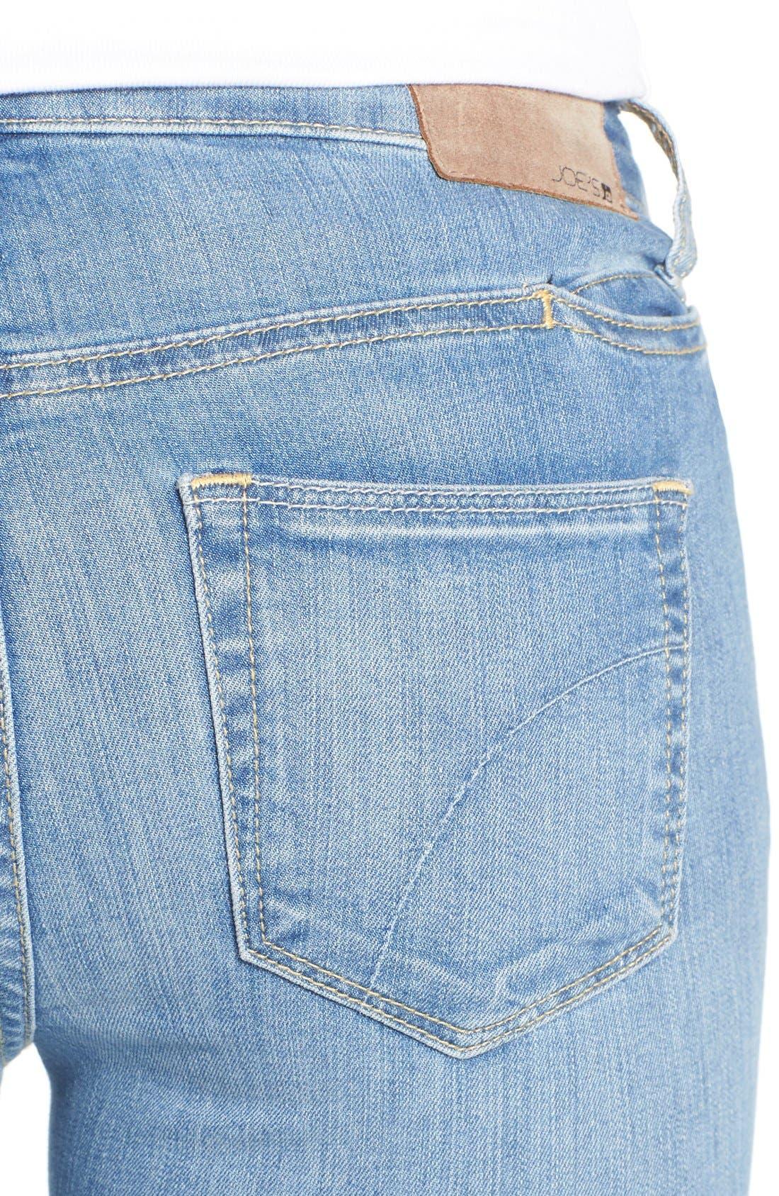 Alternate Image 4  - Joe's 'Vixen' Ankle Skinny Jeans with Phone Pocket (Mitzi)