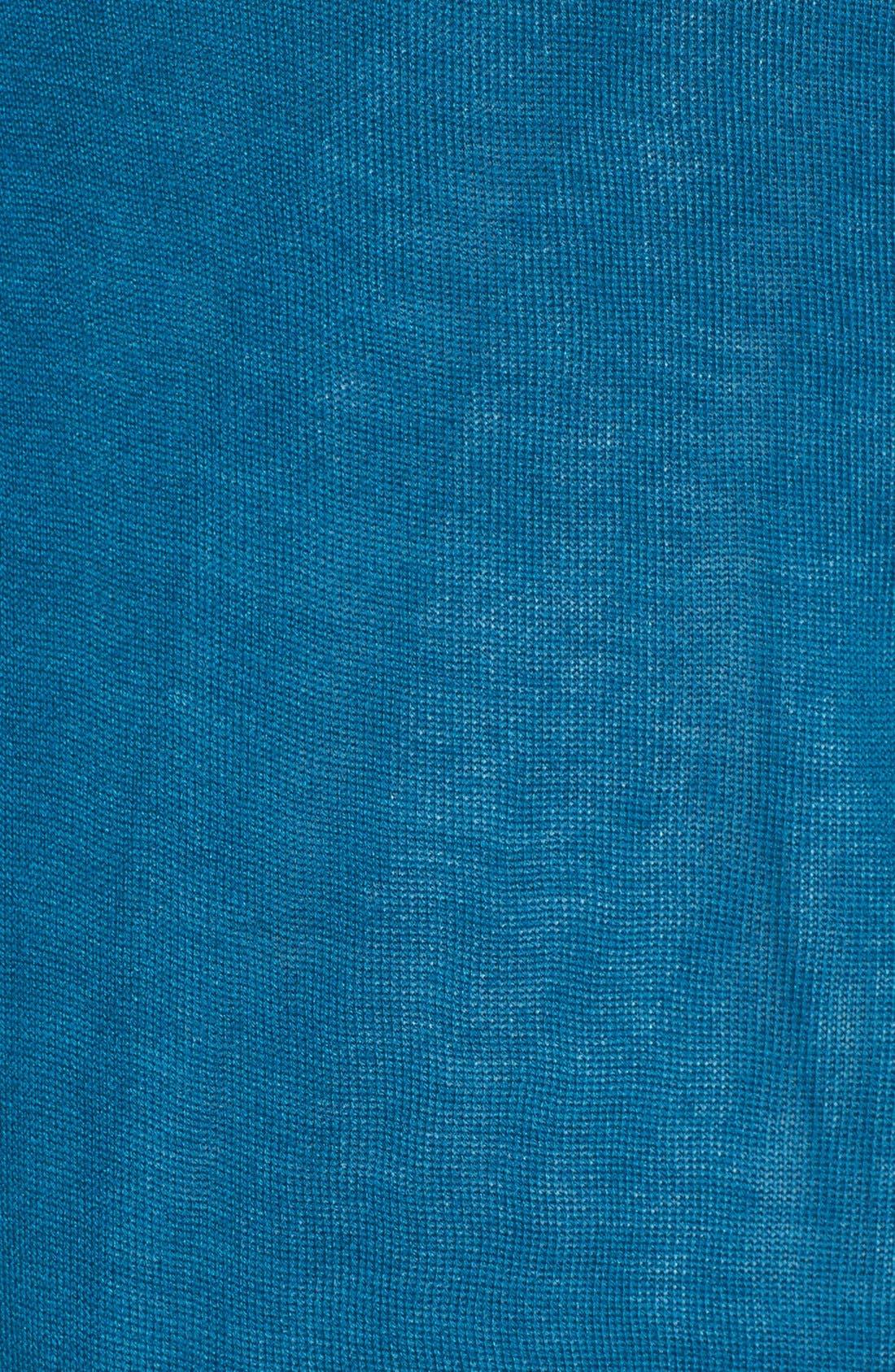 Alternate Image 5  - Halogen® Lightweight V-Neck Cardigan (Regular & Petite)