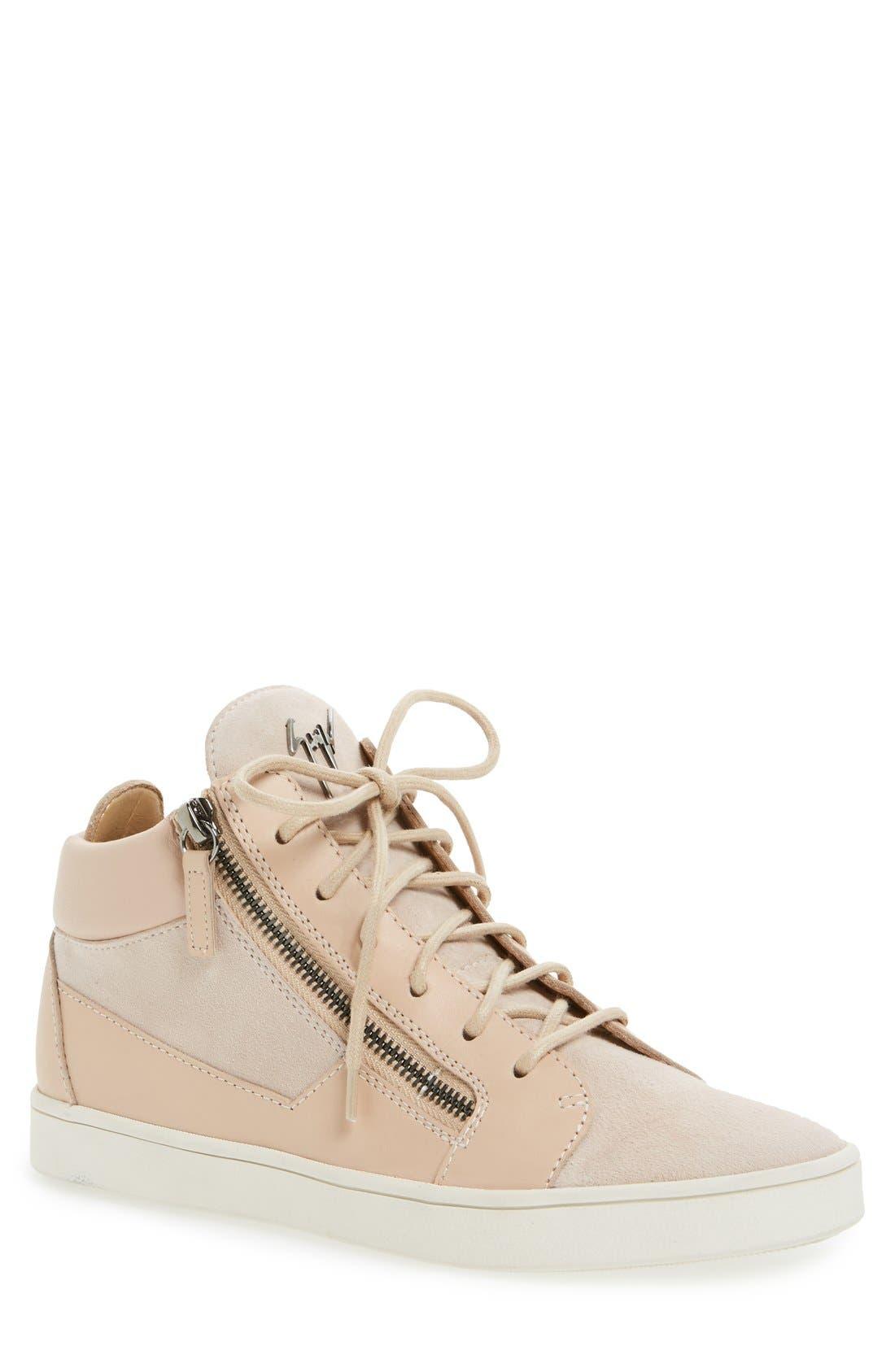 Giuseppe Zanotti 'Breck' Mid Top Sneaker (Women)