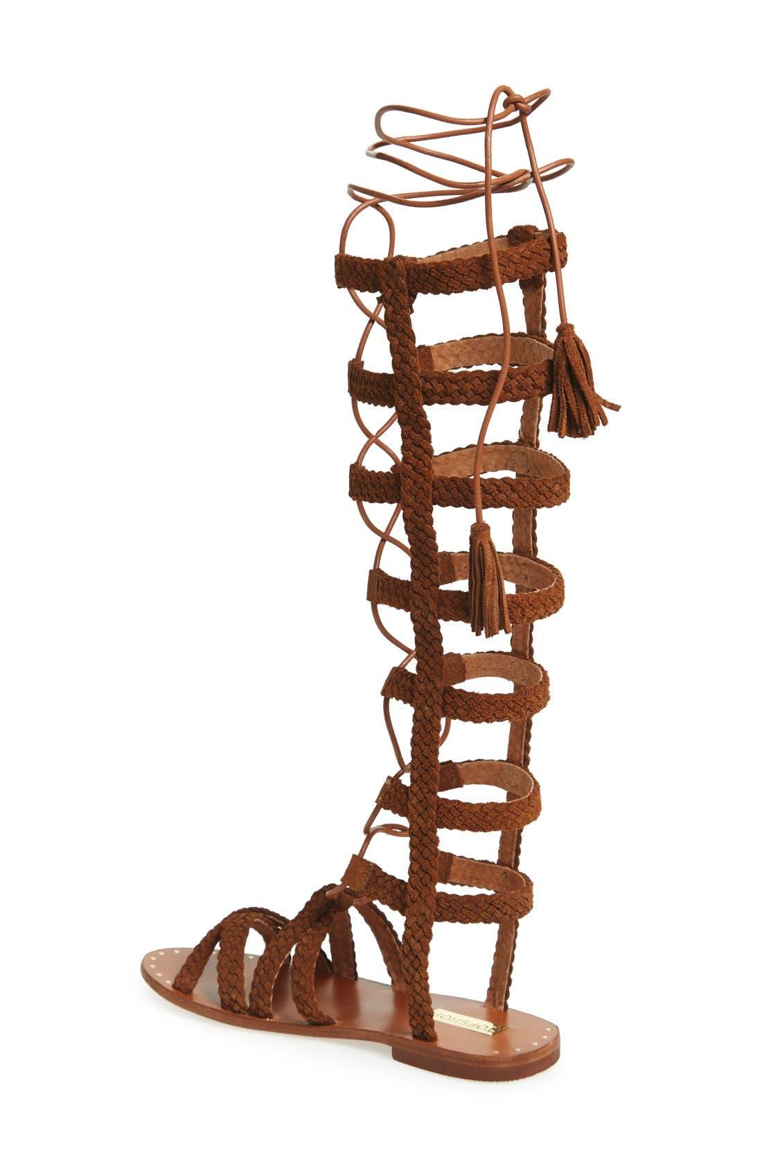 Alternate Image 2  - Topshop 'Faraday' Lace-Up Gladiator Sandal (Women)