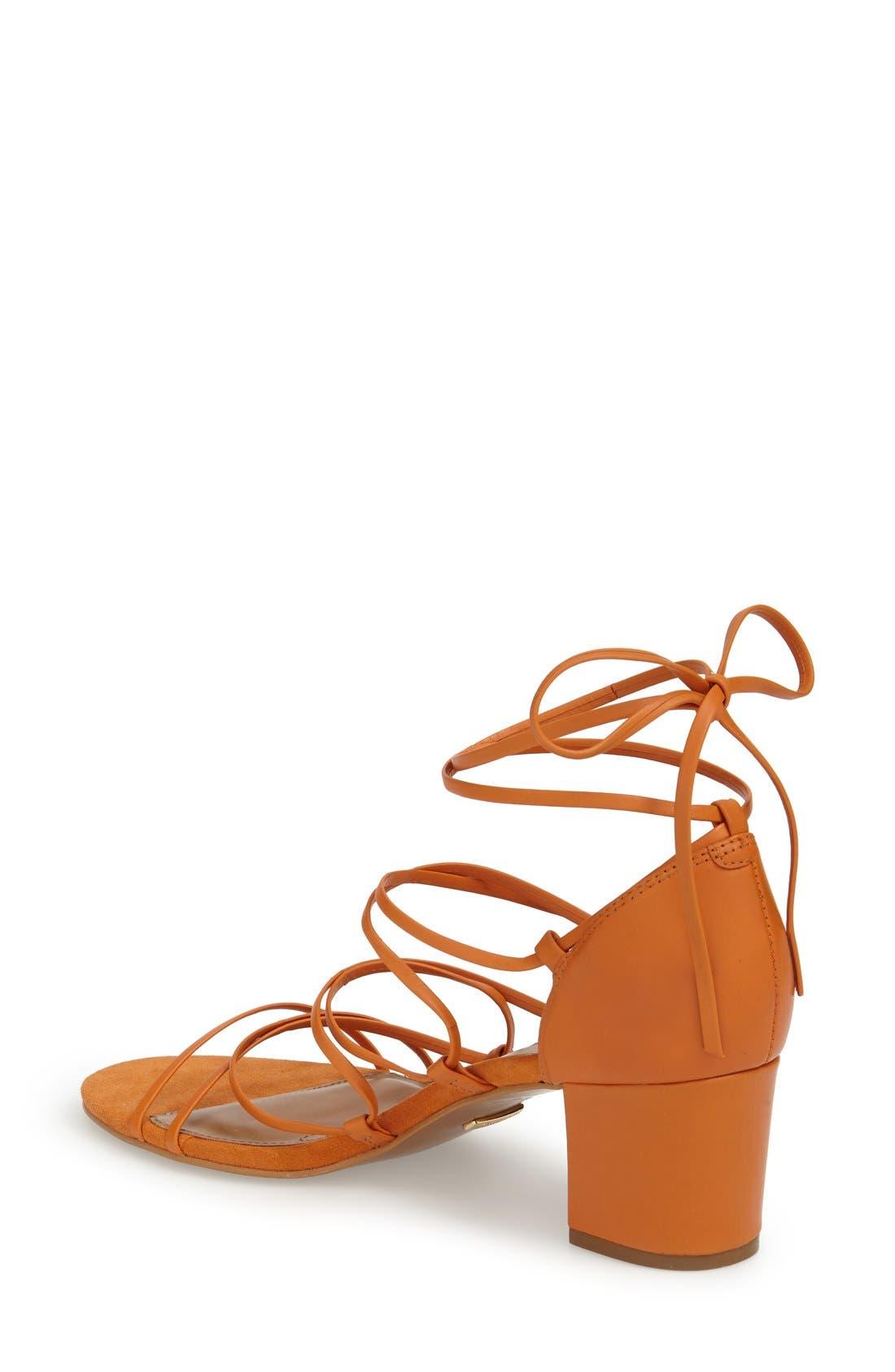 Alternate Image 2  - Topshop Strappy Block Heel Sandal (Women)