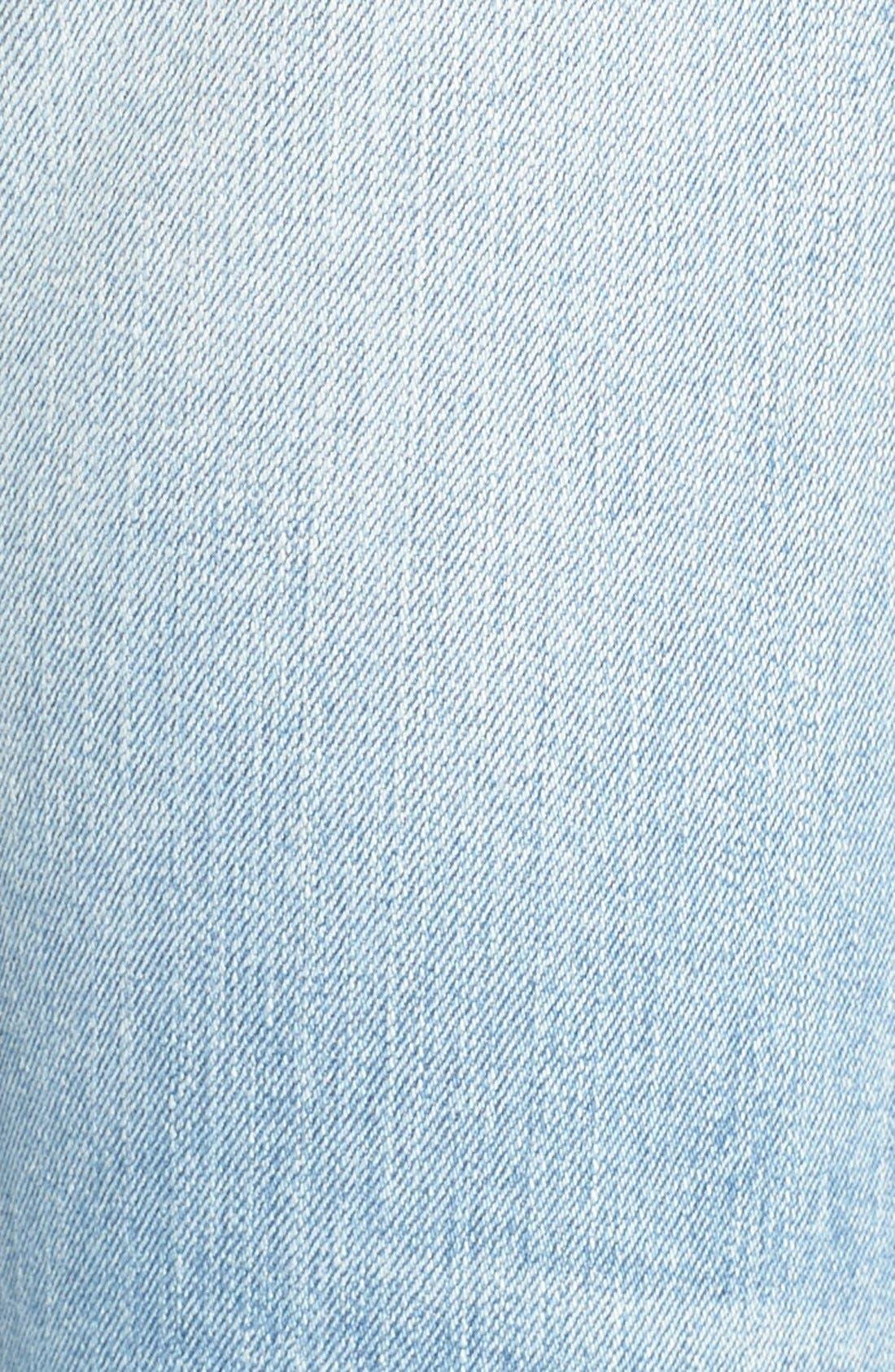 Alternate Image 5  - Joe's 'Icon' Destroyed Ankle Jeans (Margie)