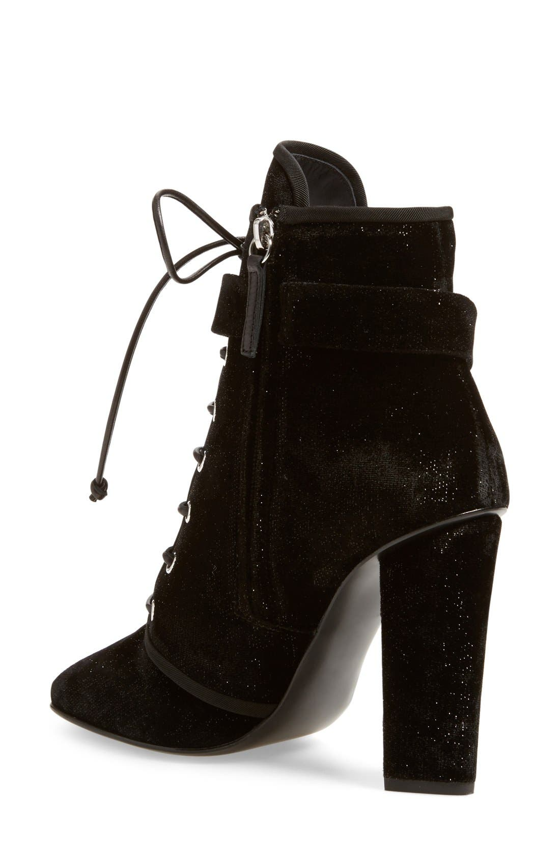 Alternate Image 2  - Giuseppe Zanotti 'Alabama' Lace-Up Bootie (Women)