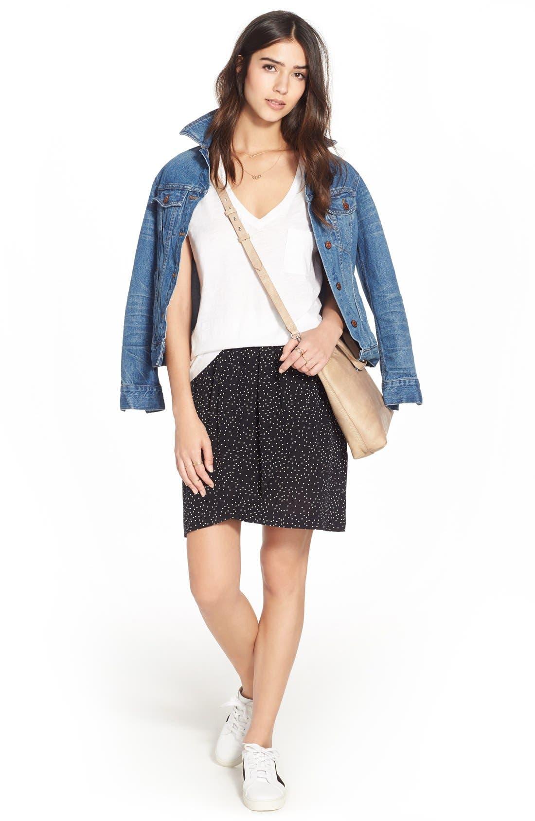 Madewell Tee, Jacket & Skirt