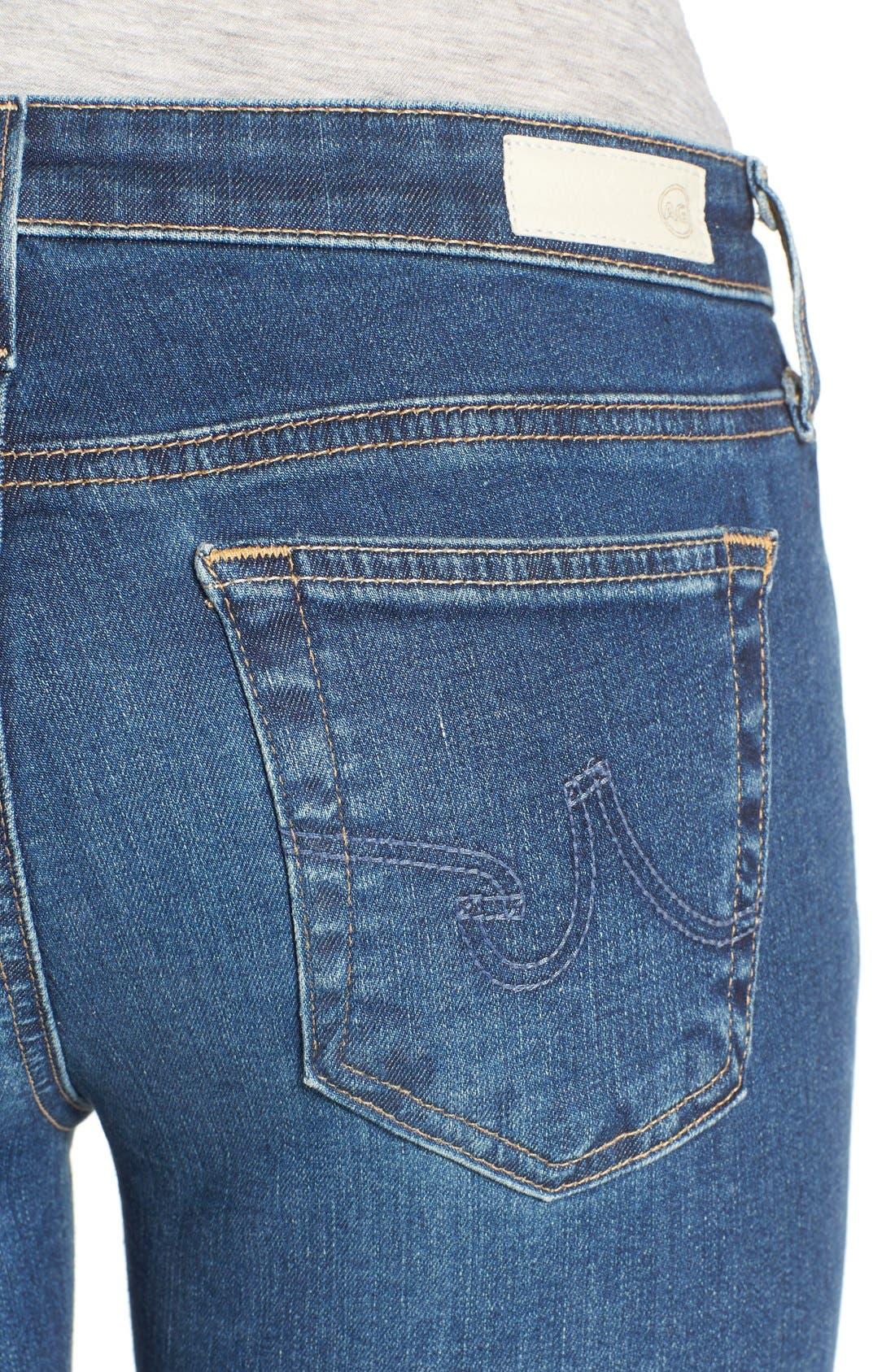 Alternate Image 4  - AG Jeans 'The Stilt' Crop Skinny Stretch Jeans