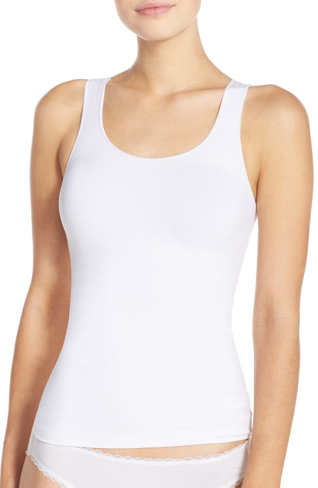 Alternate Image 1 Selected - Nordstrom Lingerie Two-Way Seamless Tank (2 for $49)