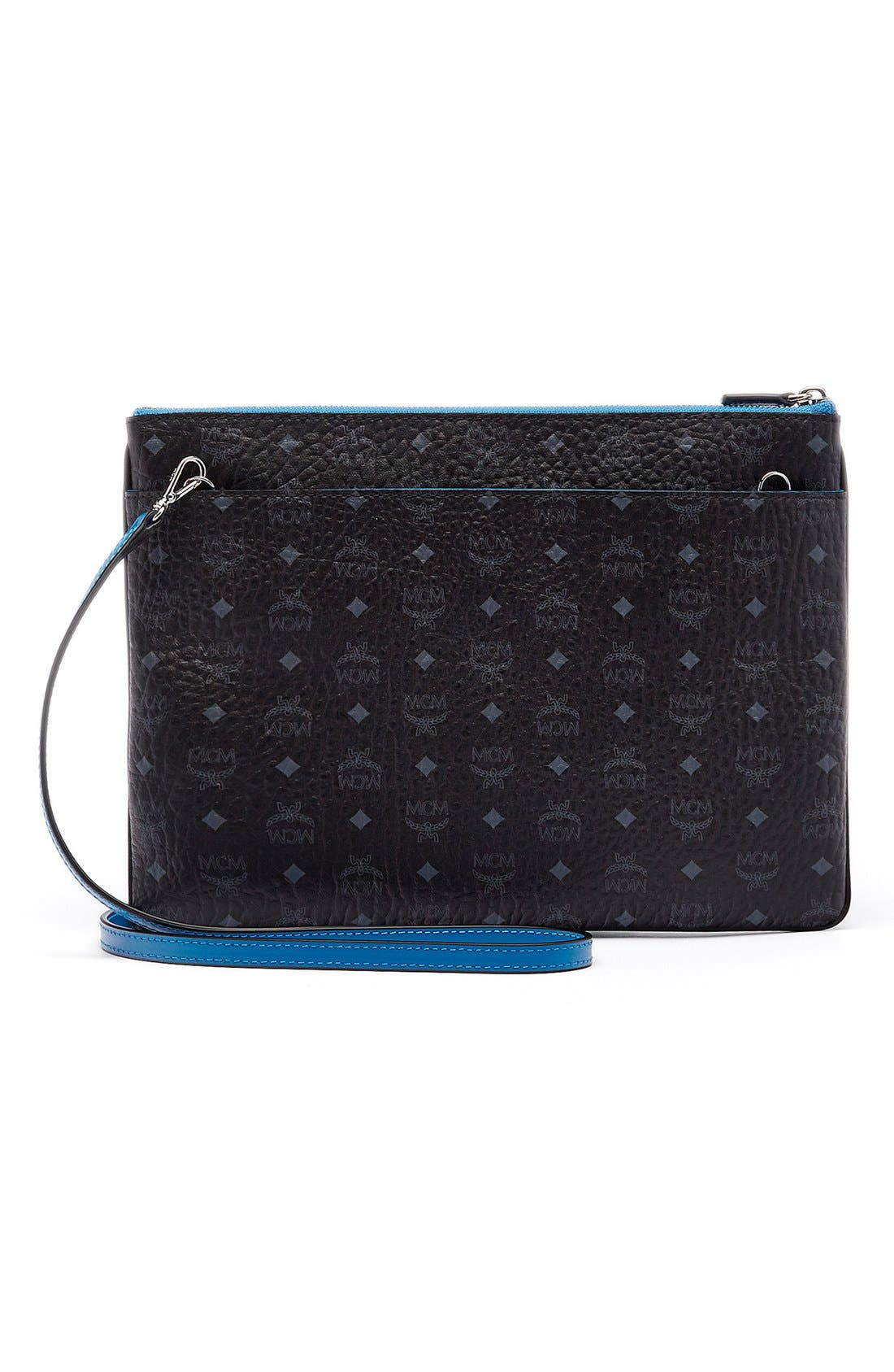 Alternate Image 3  - MCM 'Heritage' Convertible Coated Canvas Zip Pouch