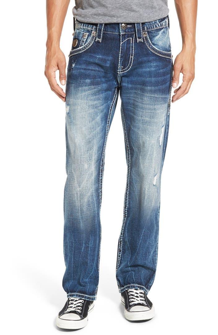 Rock Revival Straight Leg Jeans | Nordstrom