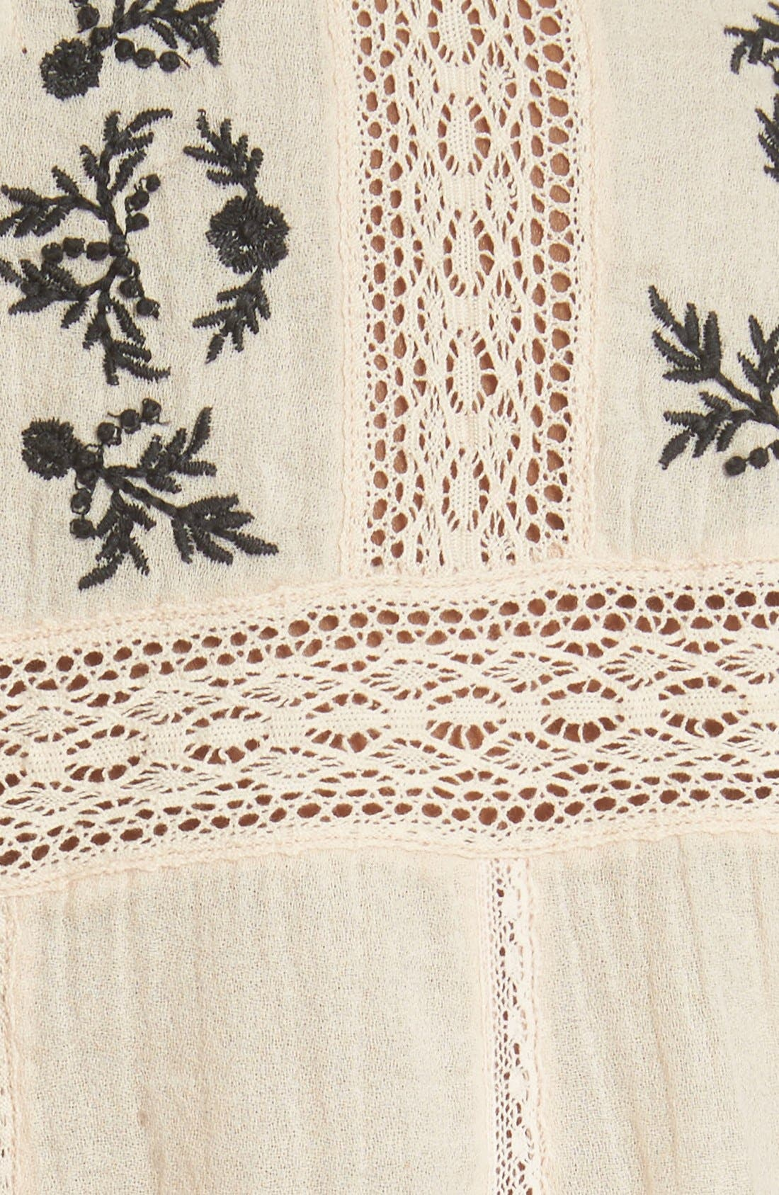 Alternate Image 5  - Joie 'Oakes' Embroidered Cotton Blouse